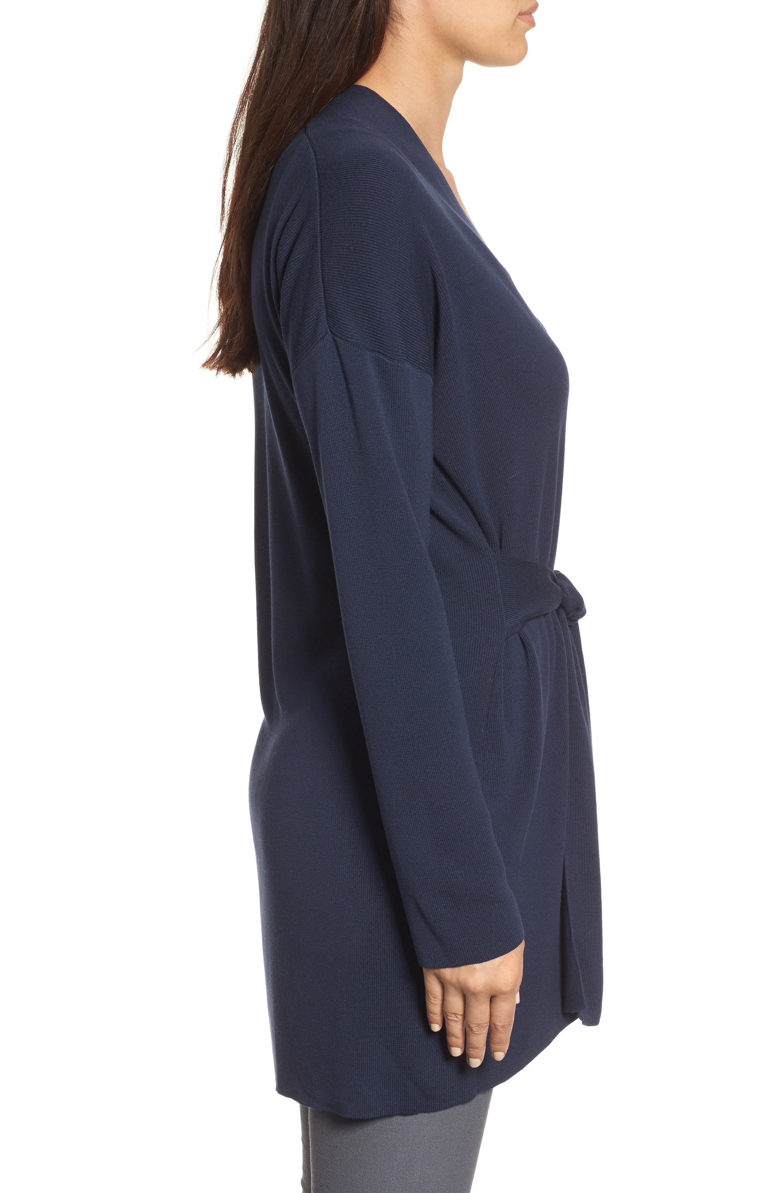 Long Belted Cardigan,                             Alternate thumbnail 12, color,