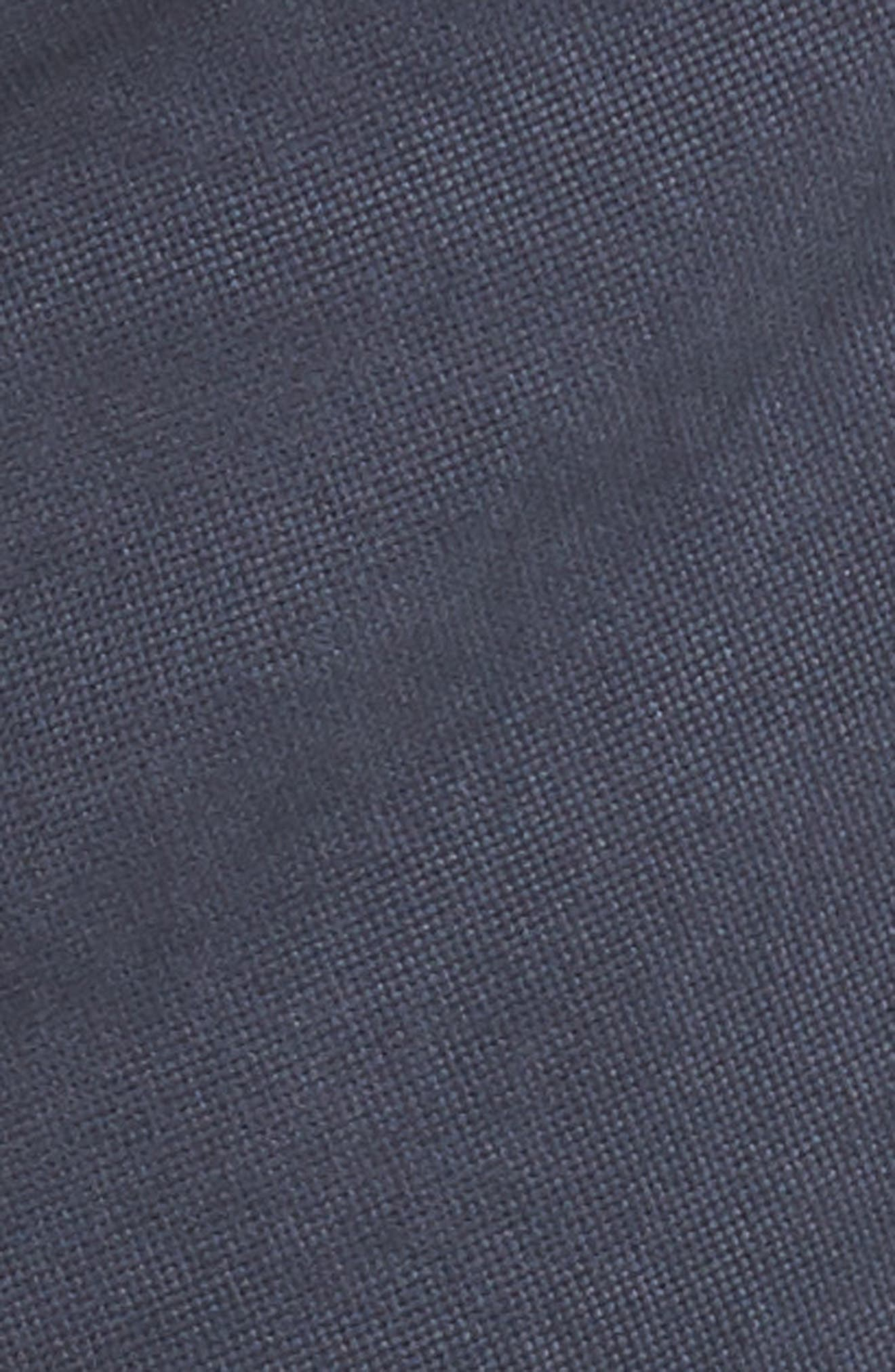 Fencourt Regular Fit Straight Leg Jeans,                             Alternate thumbnail 5, color,                             MIDNIGHT