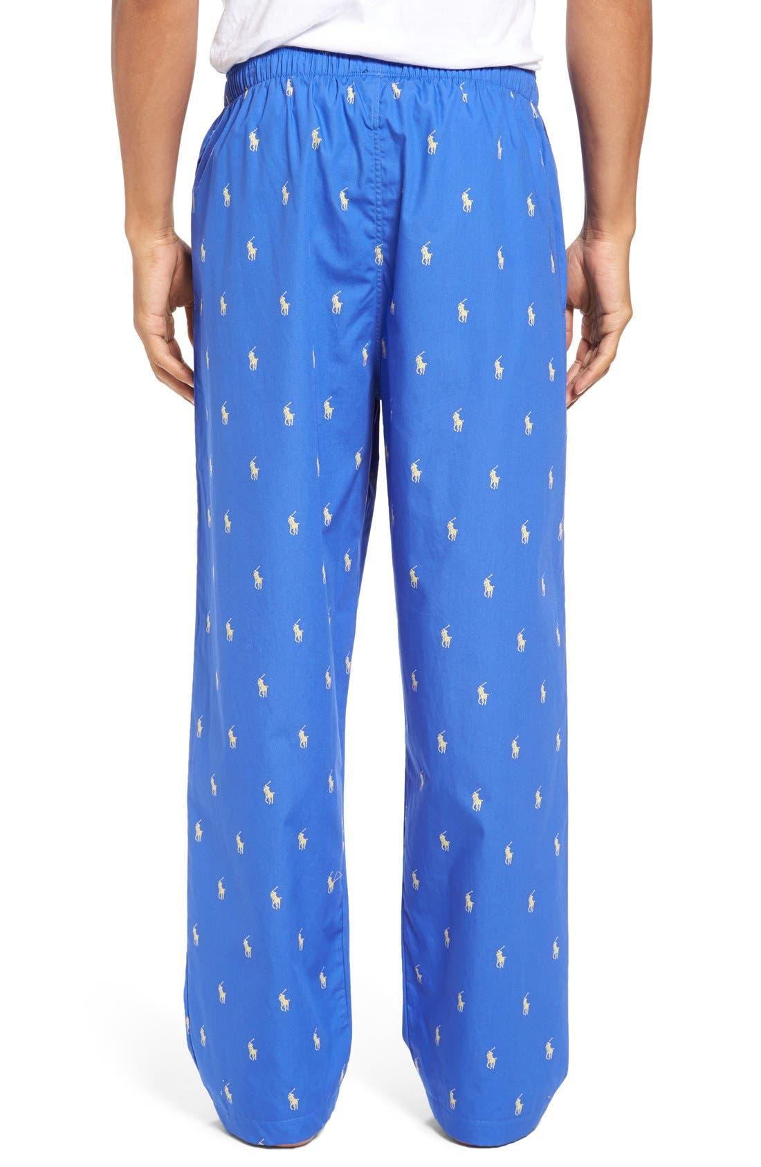 Cotton Lounge Pants,                             Alternate thumbnail 19, color,
