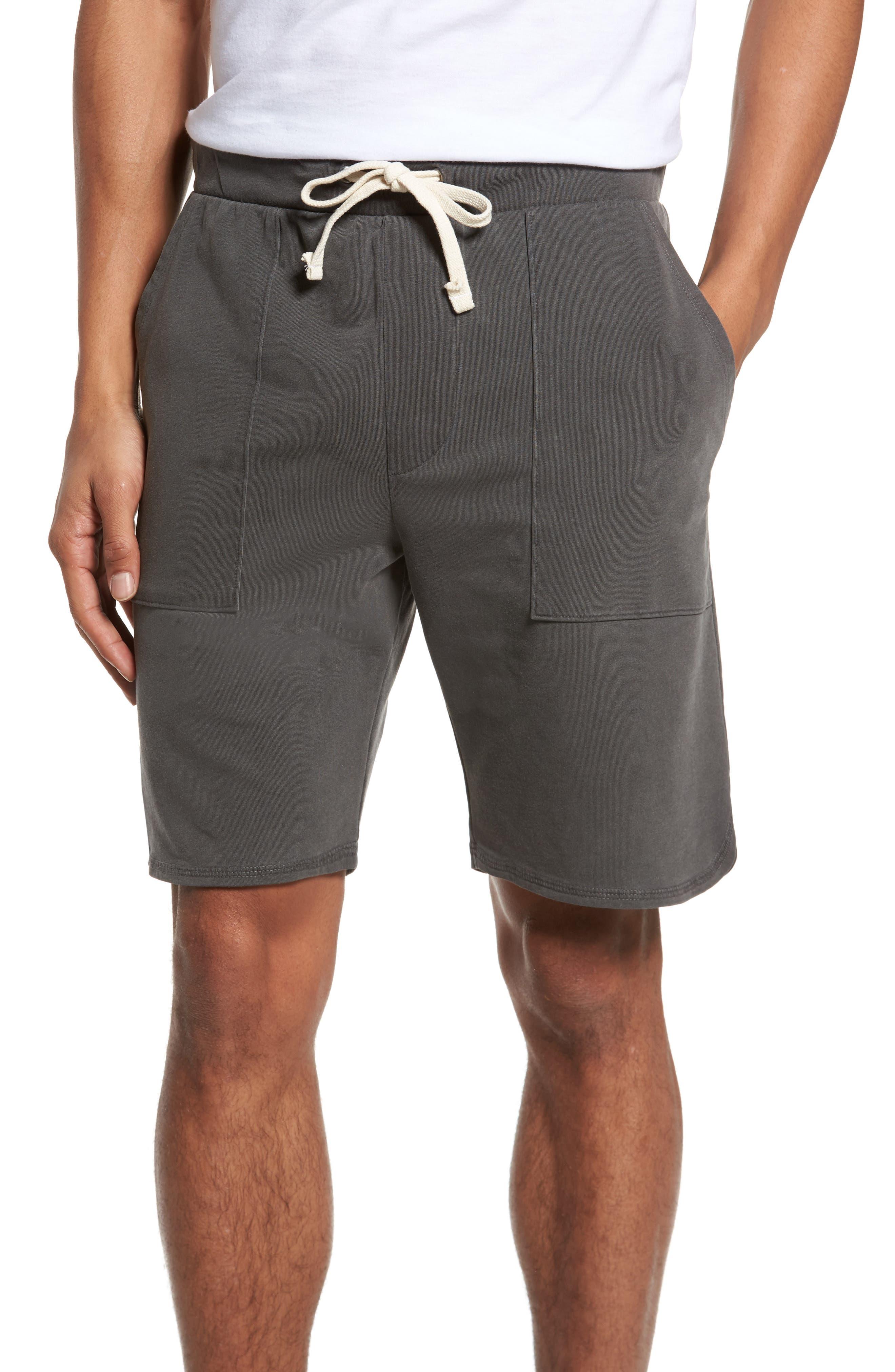 Terrycloth Scallop Shorts,                             Main thumbnail 1, color,                             009