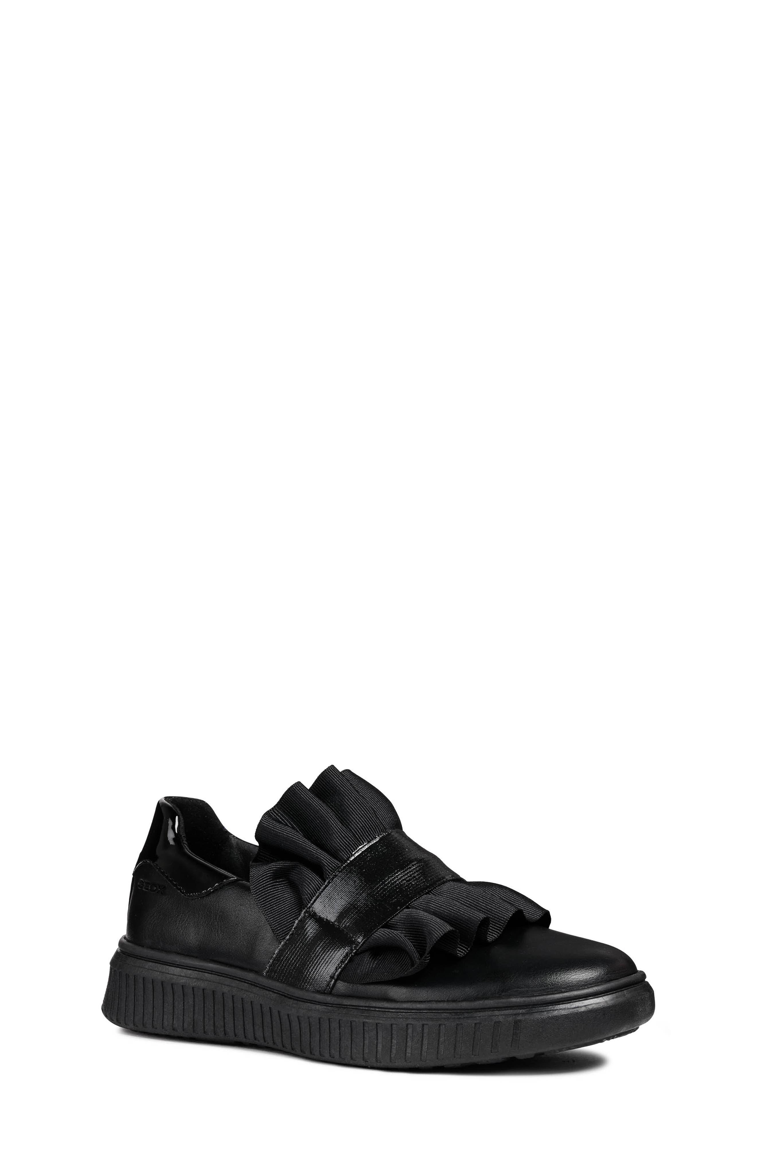 Disco Mix Slip-On Sneaker,                             Main thumbnail 1, color,                             BLACK