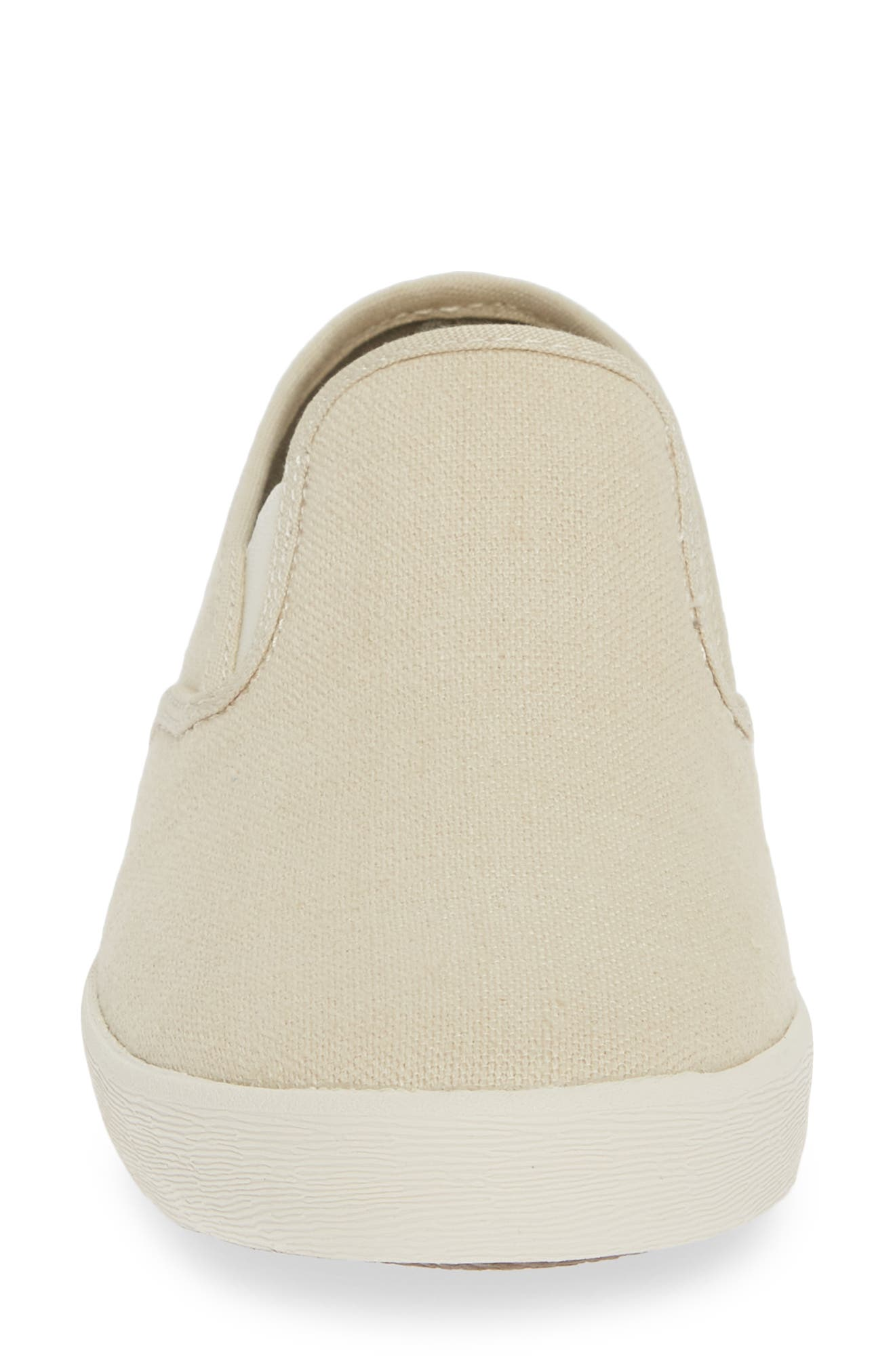 Baja Standard Slip-On Sneaker,                             Alternate thumbnail 4, color,                             NATURAL