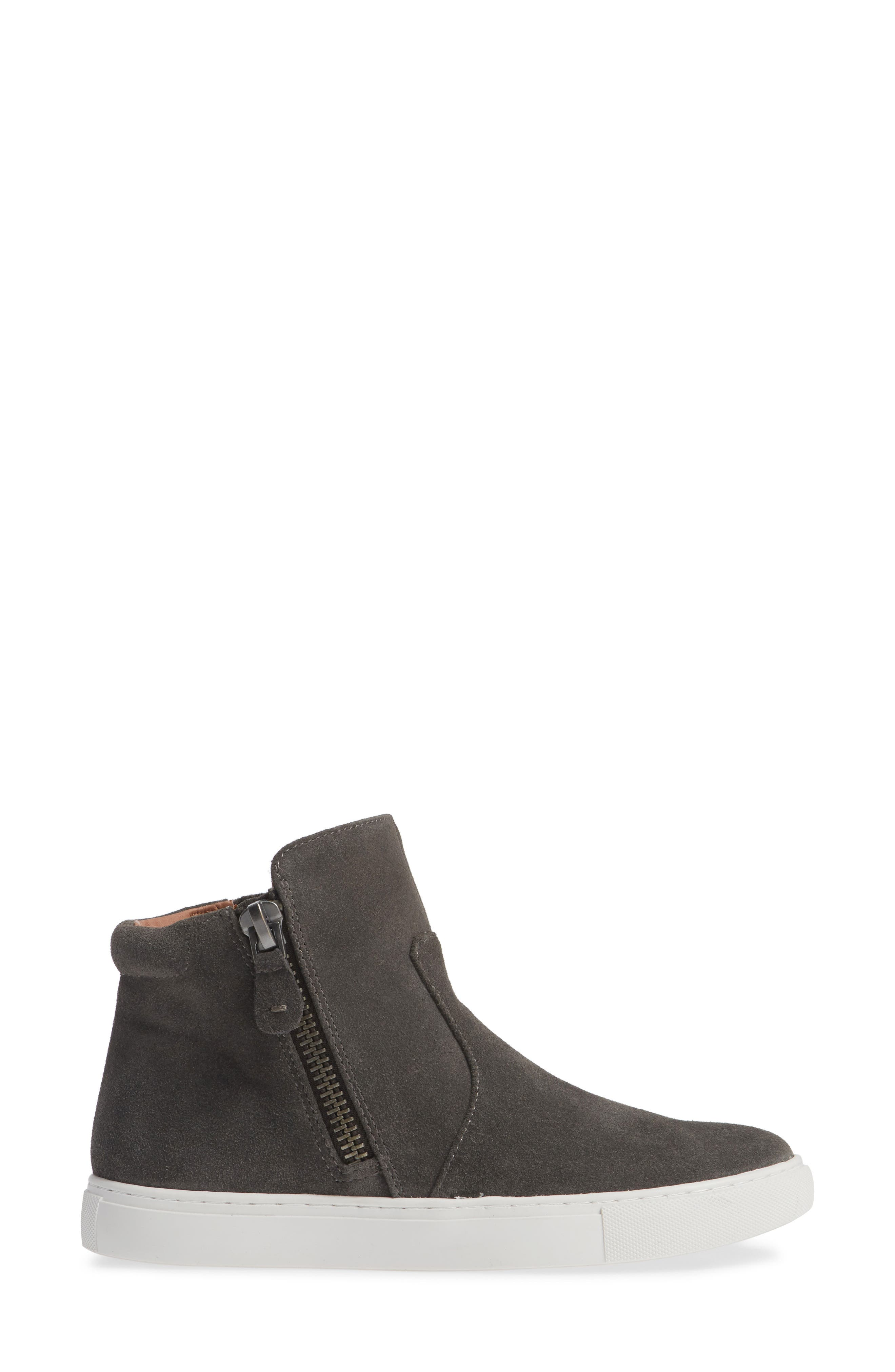 by Kenneth Cole Carter Bootie,                             Alternate thumbnail 3, color,                             GREY SUEDE