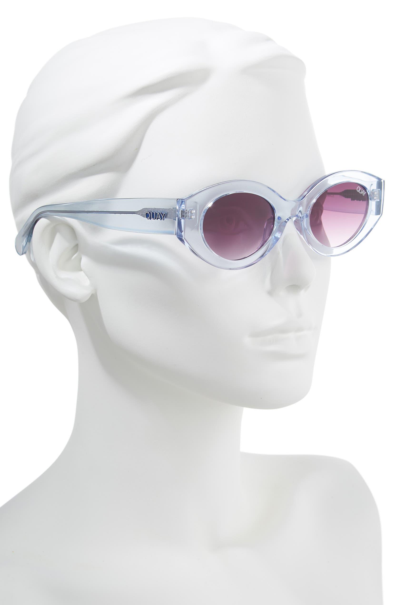 cc98d7e6ad Quay Australia See Me Smile 50mm Cat Eye Sunglasses