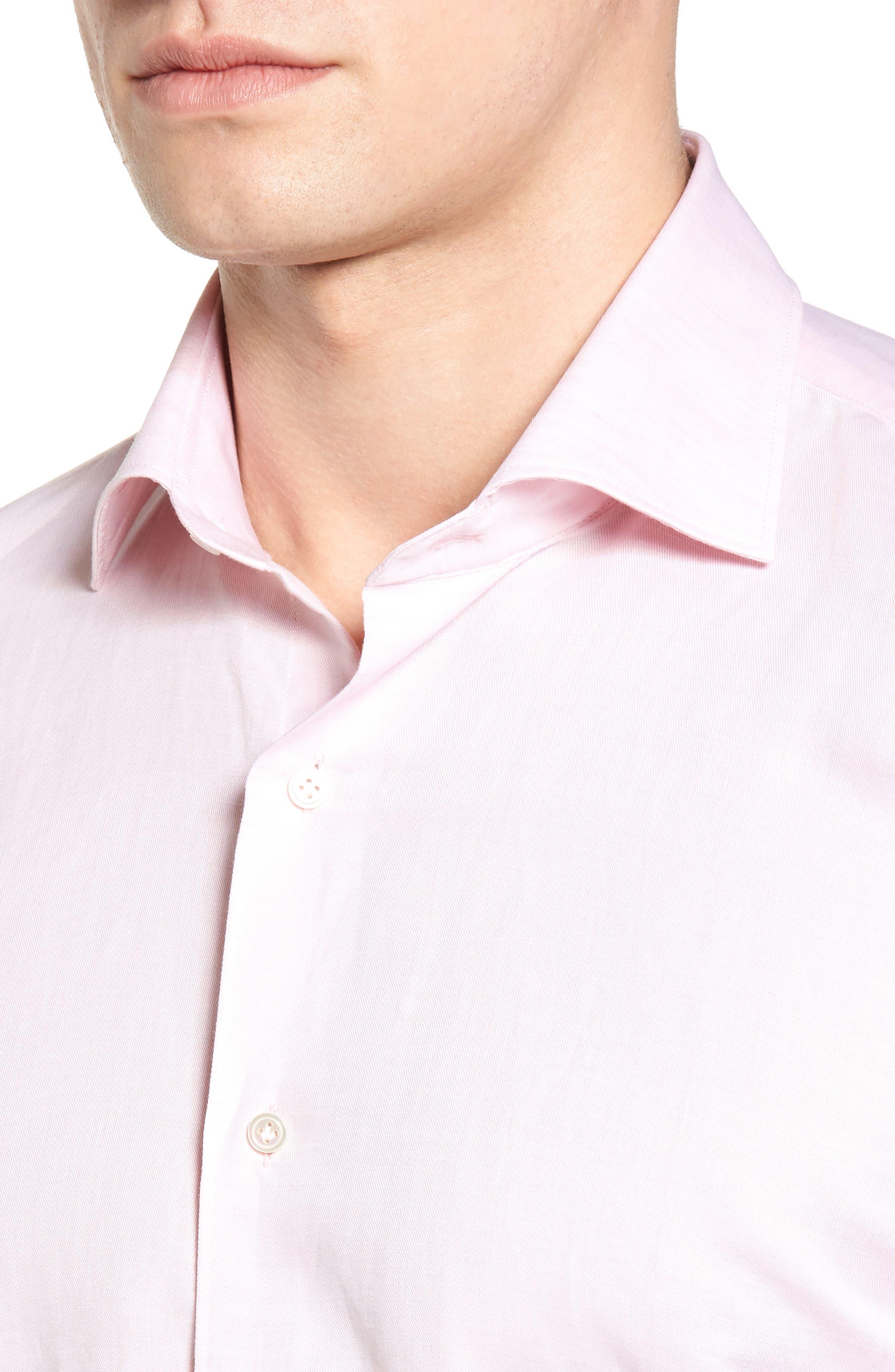 PETER MILLAR COLLECTION,                             Linen & Cotton Sport Shirt,                             Alternate thumbnail 4, color,                             626