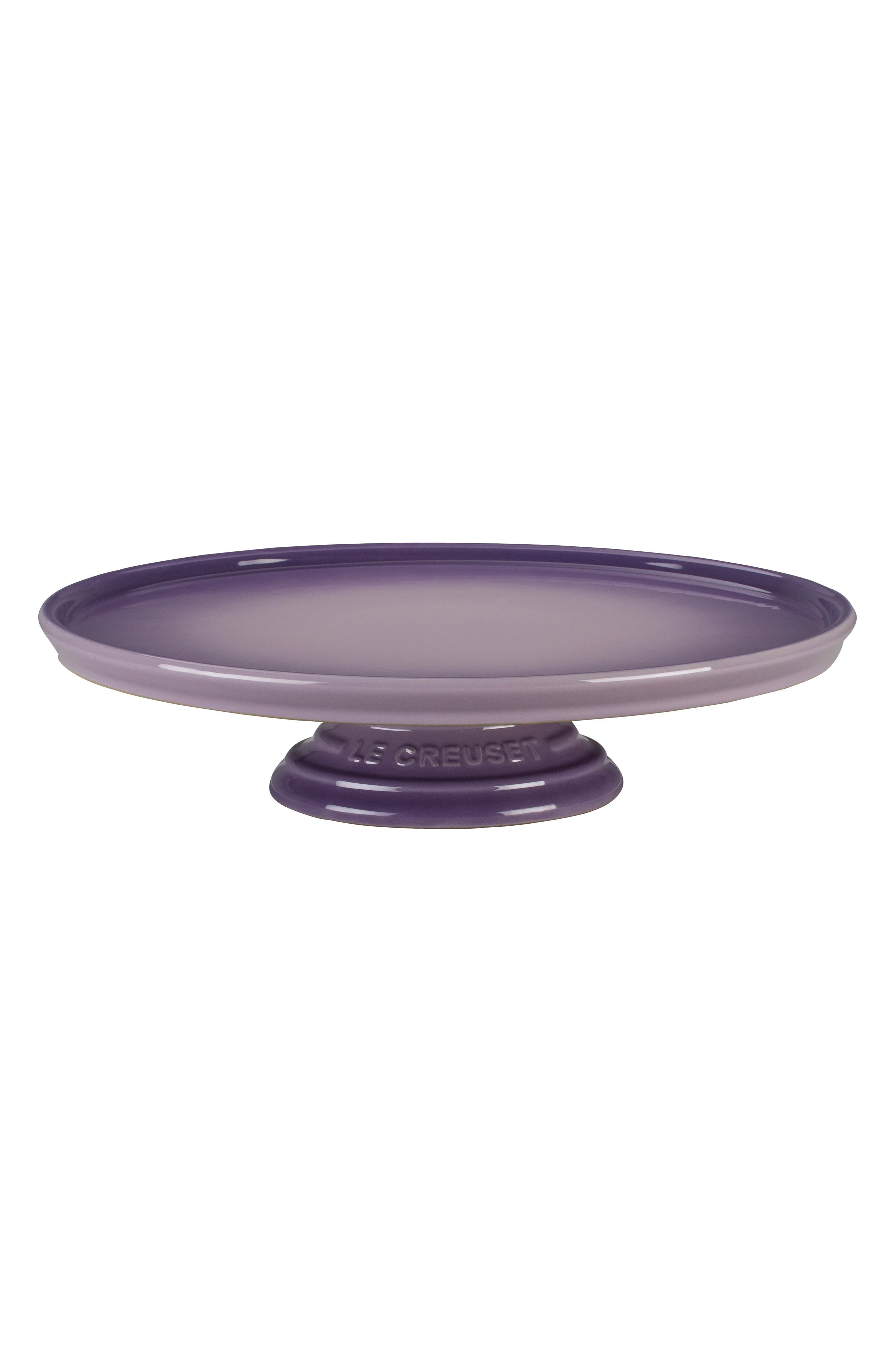 Stoneware Cake Stand,                         Main,                         color, PROVENCE