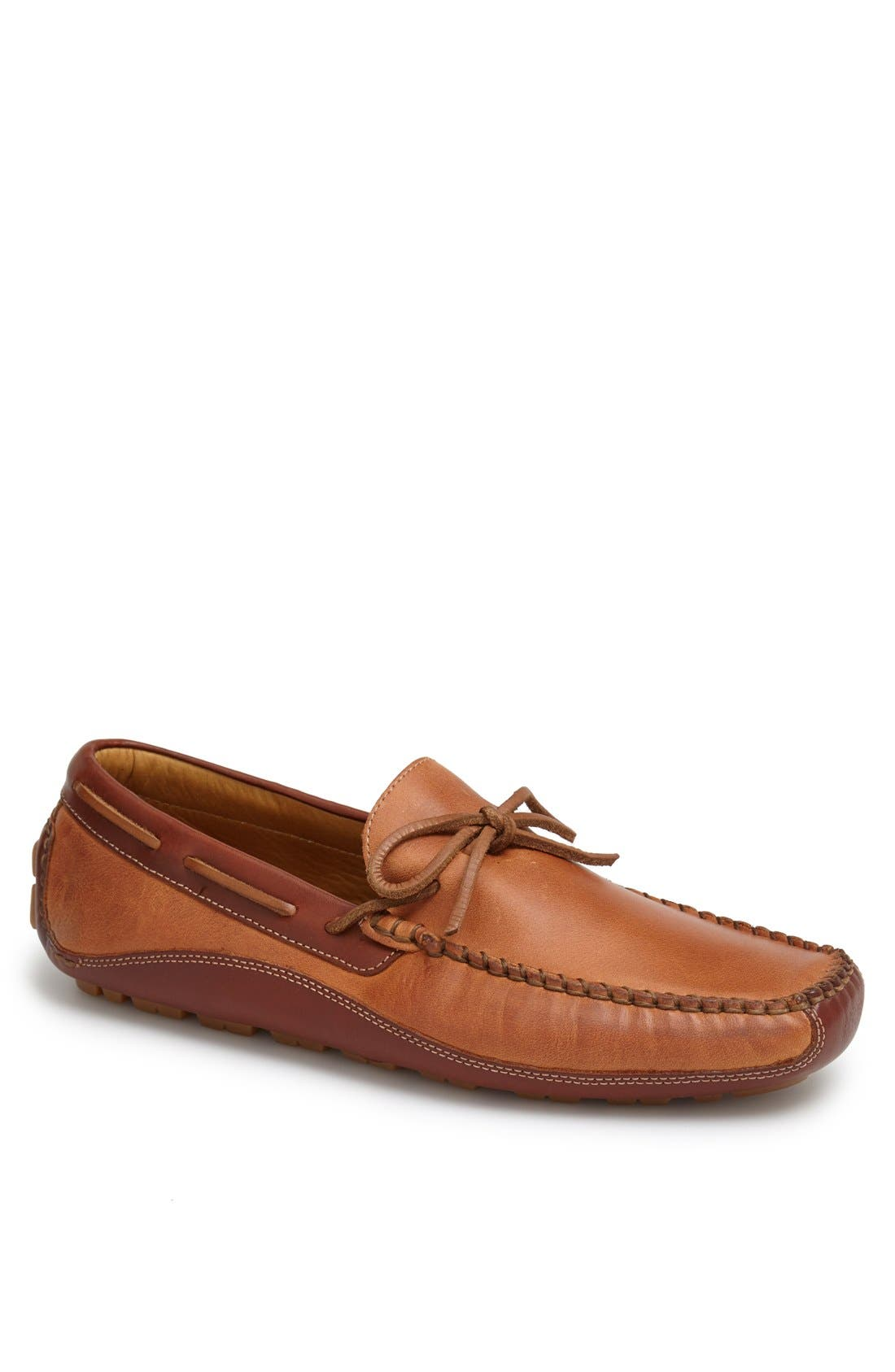 'Drake' Leather Driving Shoe,                             Main thumbnail 8, color,