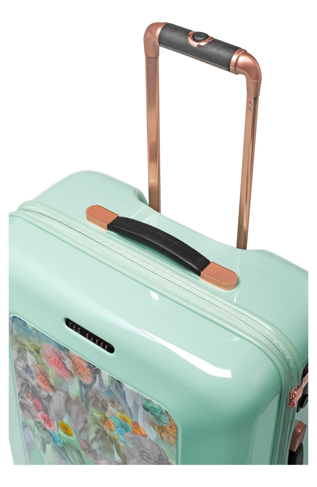 'Medium Sugar Sweet Florals' Hard Shell Suitcase,                             Alternate thumbnail 6, color,                             440