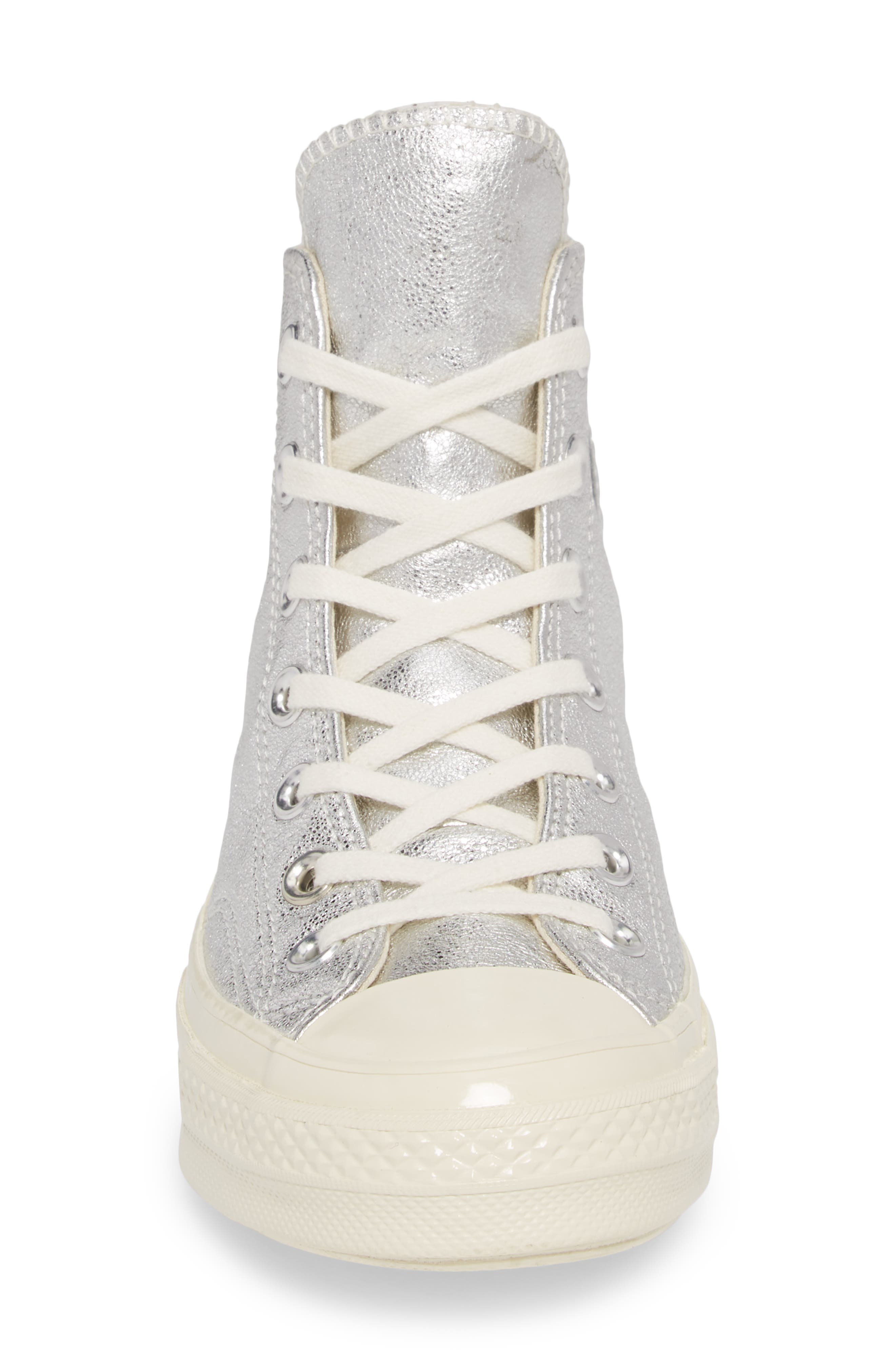Chuck Taylor<sup>®</sup> All Star<sup>®</sup> Heavy Metal 70 High Top Sneaker,                             Alternate thumbnail 4, color,                             040