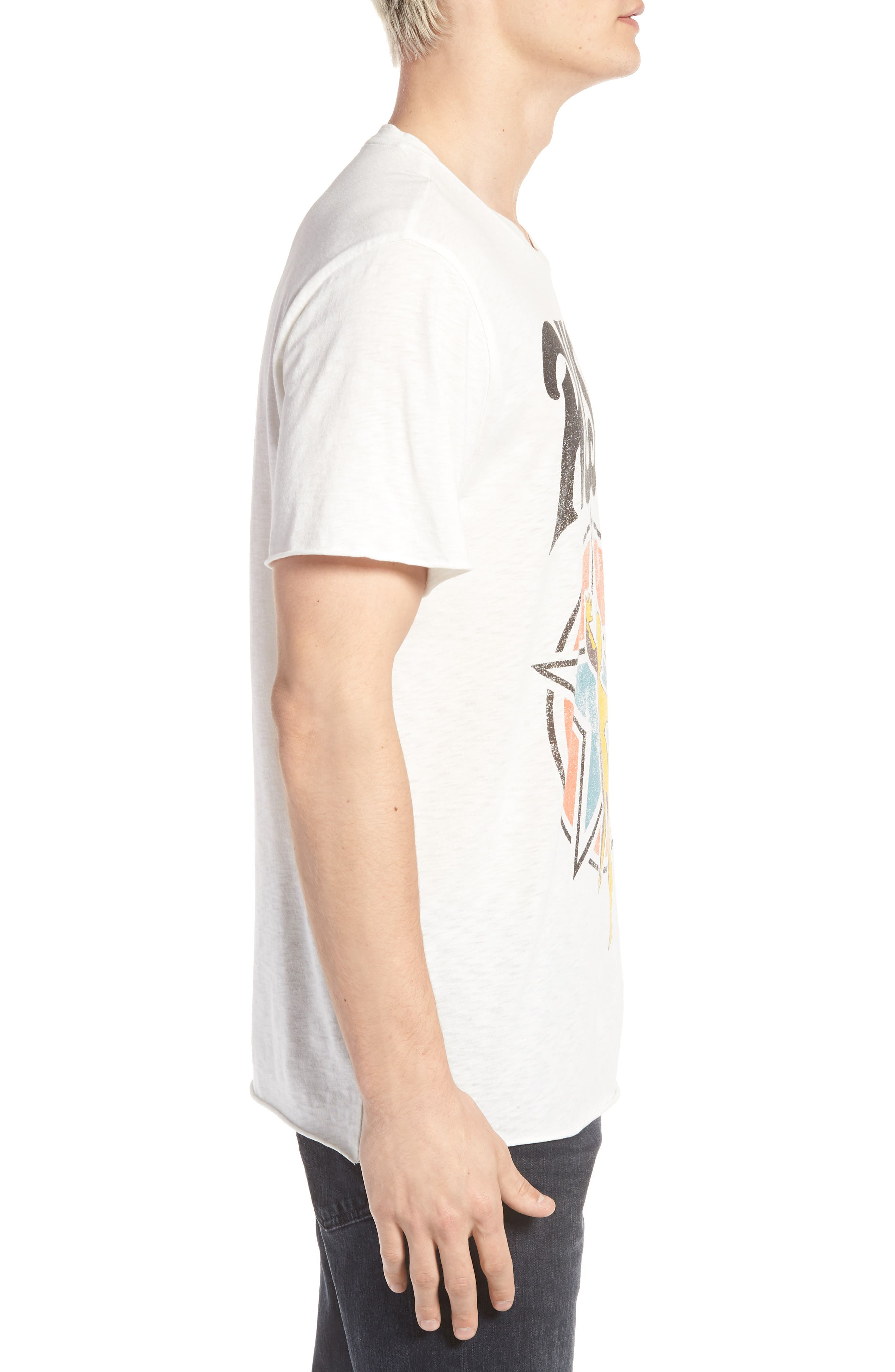 TREASURE & BOND,                             Rush Trim Fit T-Shirt,                             Alternate thumbnail 3, color,                             900