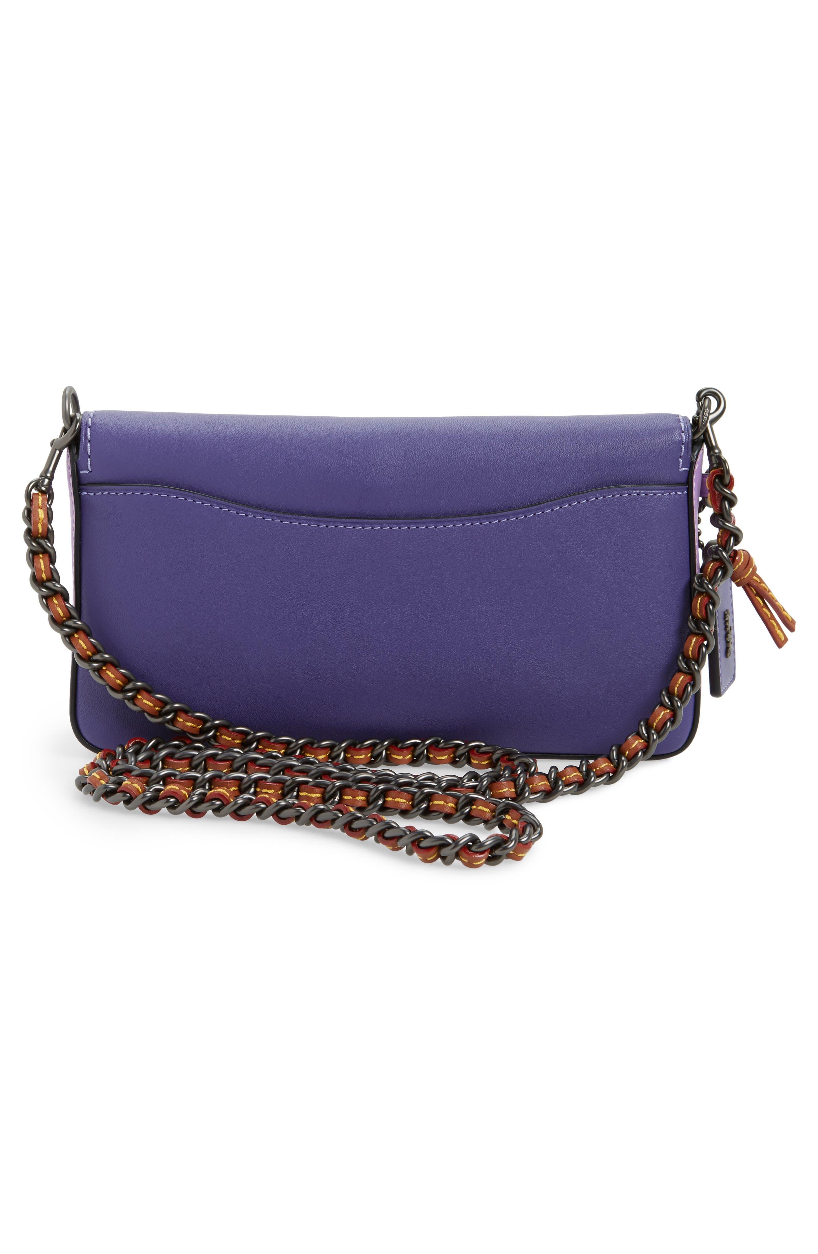 Dinky Leather Crossbody Bag,                             Alternate thumbnail 5, color,