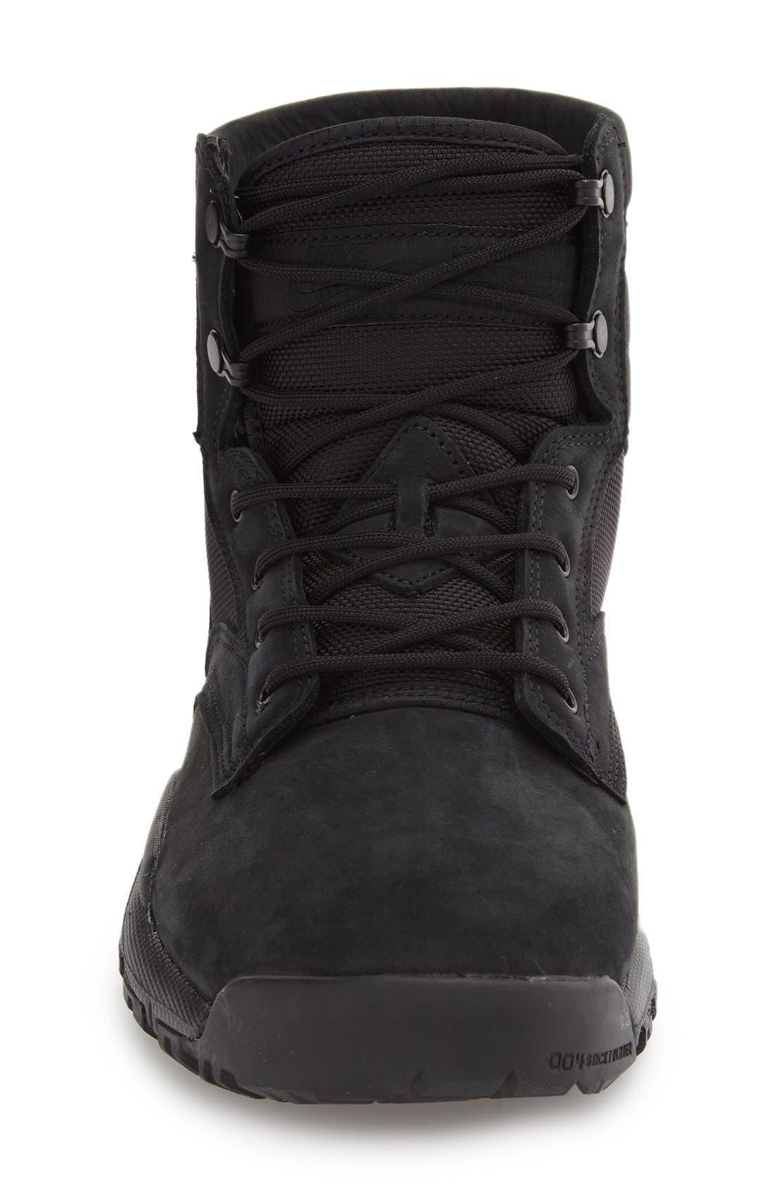 'SFB' Plain Toe Boot,                             Alternate thumbnail 3, color,                             001