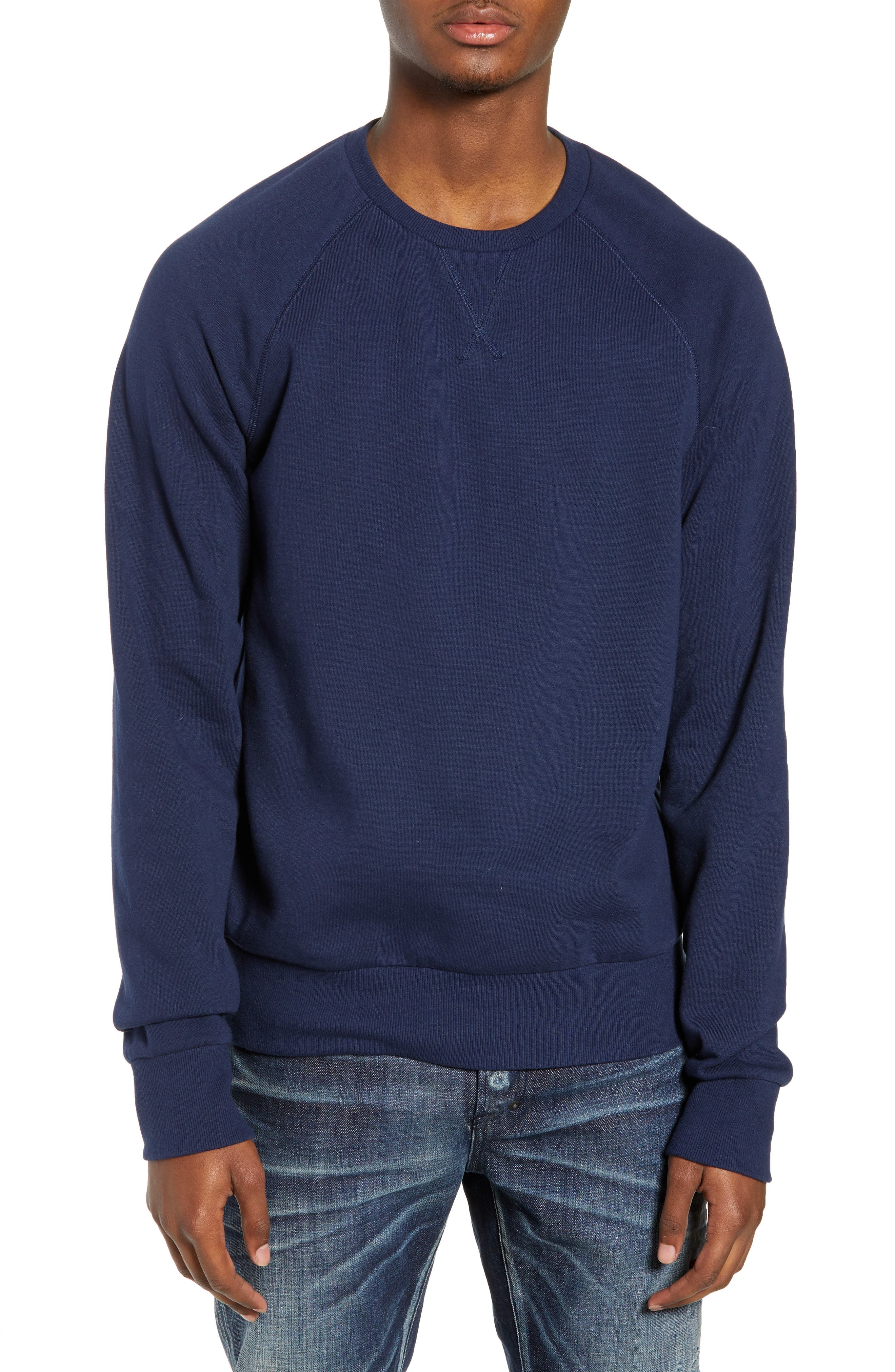THE RAIL,                             Crewneck Sweatshirt,                             Main thumbnail 1, color,                             410