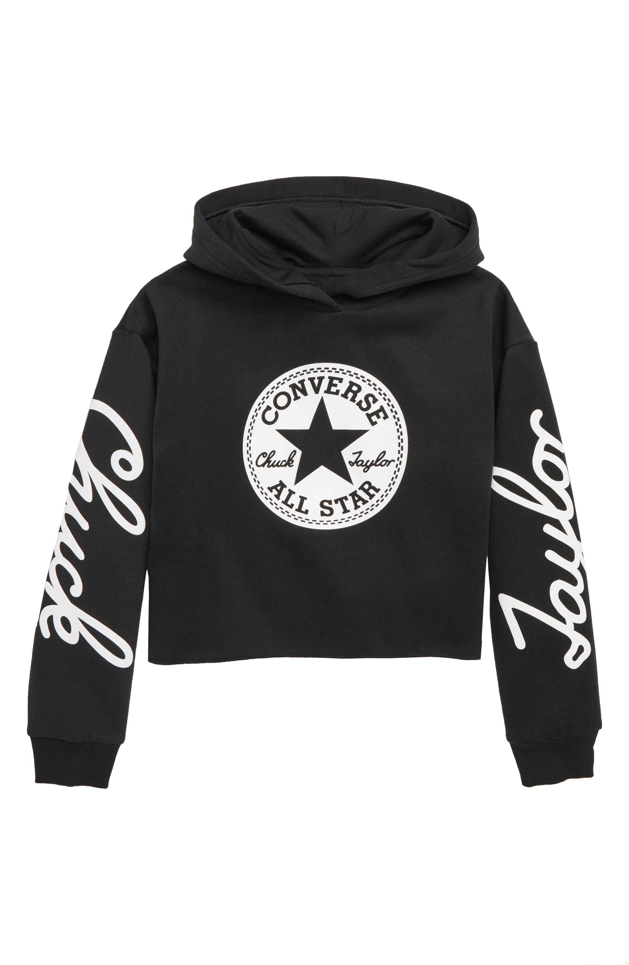 Chuck Taylor<sup>®</sup> Hoodie,                         Main,                         color, 001