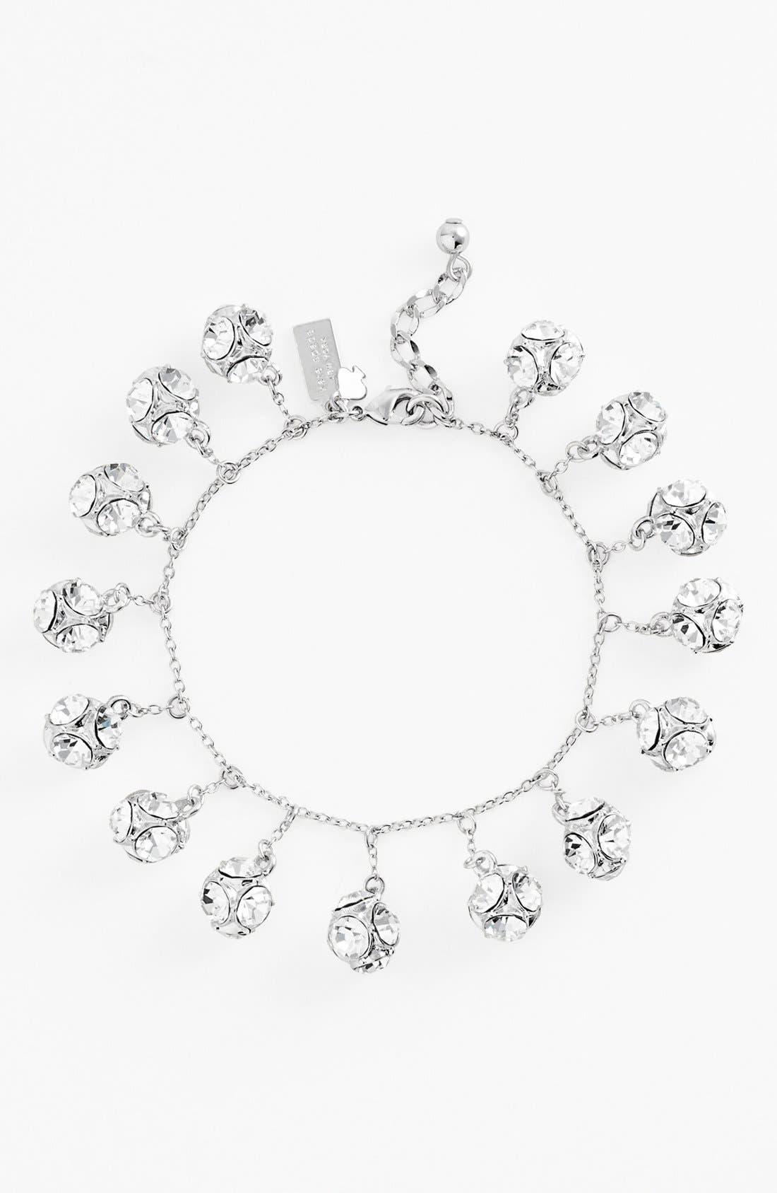 KATE SPADE NEW YORK,                             mini charm bracelet,                             Alternate thumbnail 2, color,                             040