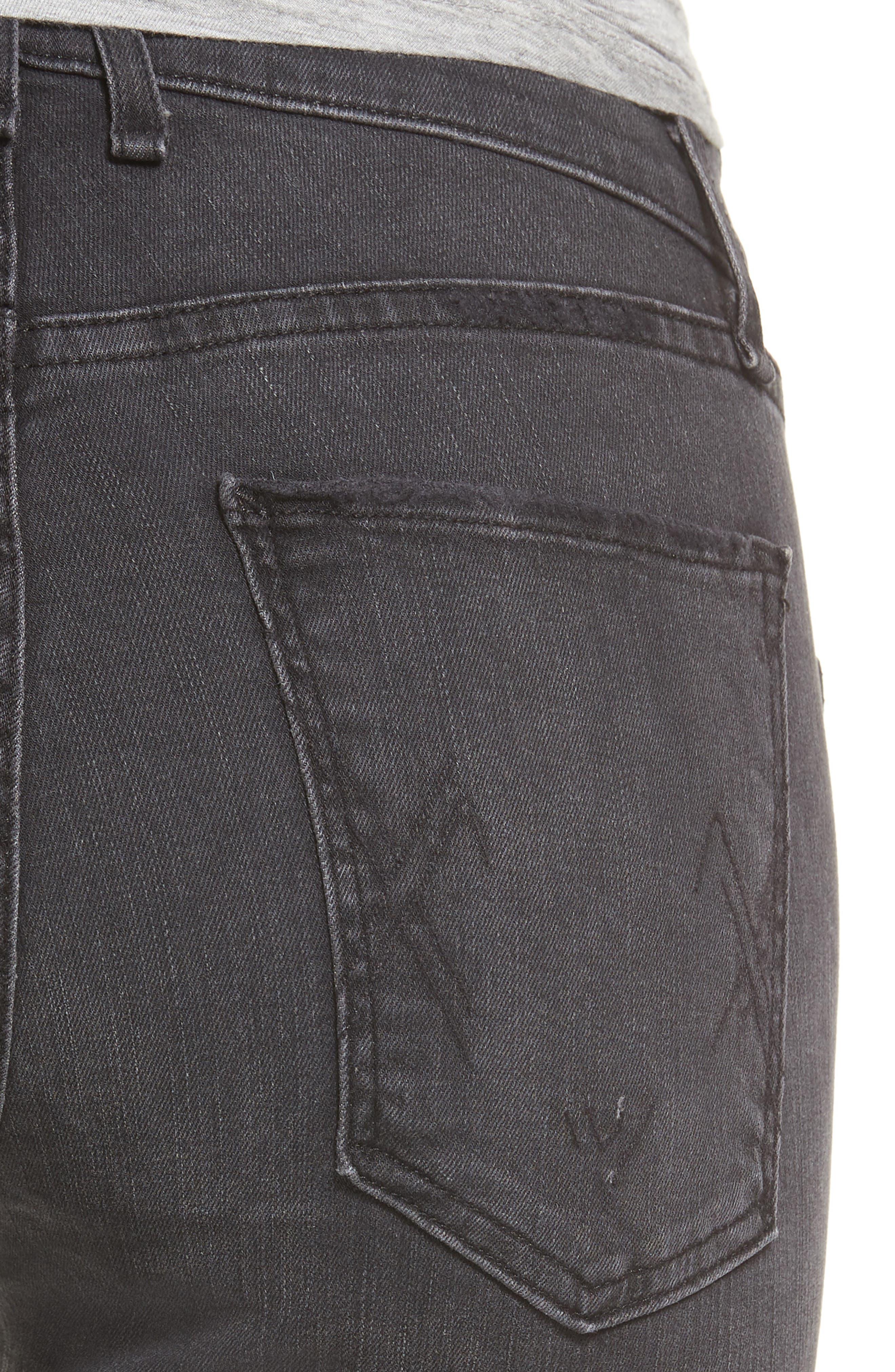 Newton Skinny Jeans,                             Alternate thumbnail 4, color,                             011
