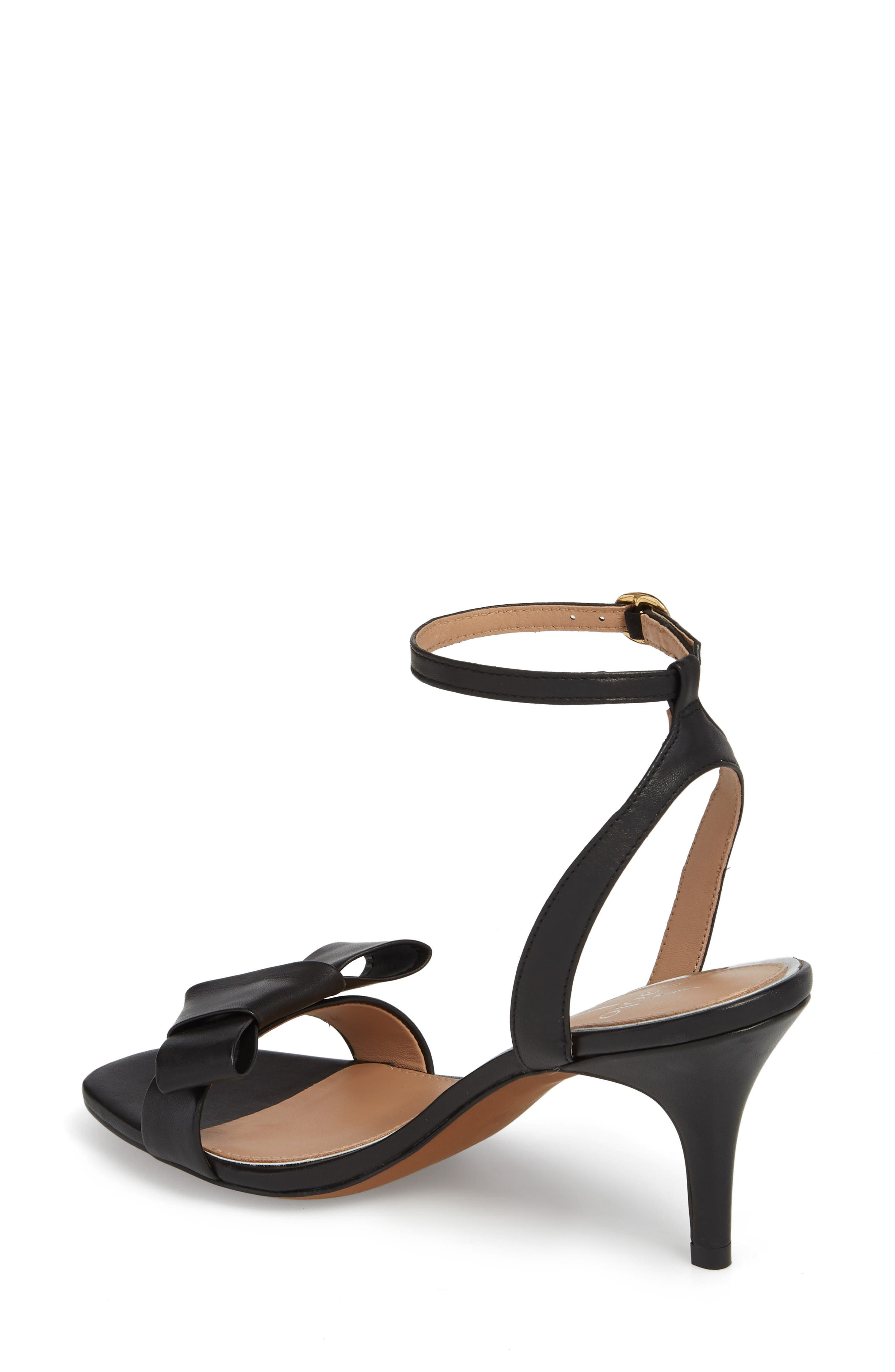 Haven Ankle Strap Sandal,                             Alternate thumbnail 2, color,                             BLACK LEATHER