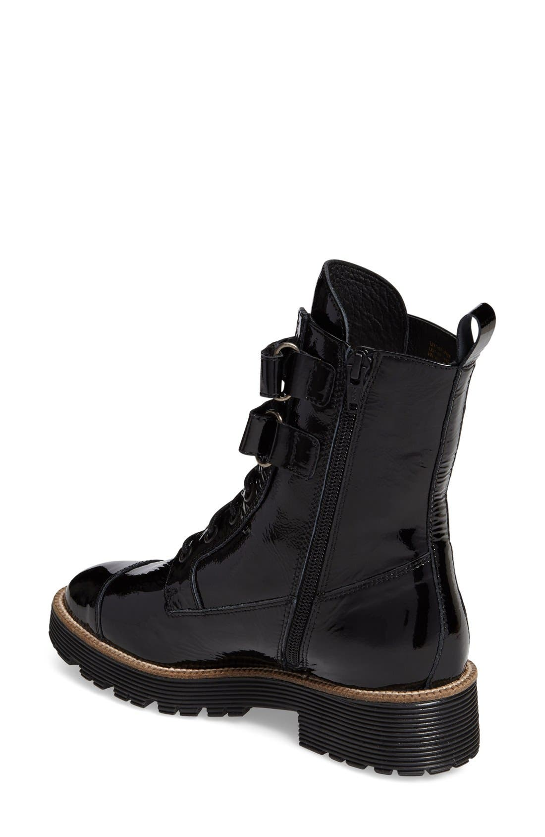 Tyra Combat Boot,                             Alternate thumbnail 5, color,
