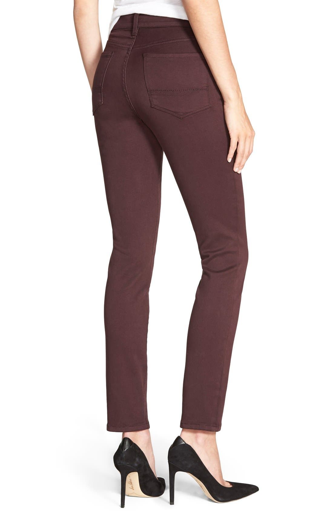 Alina Colored Stretch Skinny Jeans,                             Alternate thumbnail 101, color,