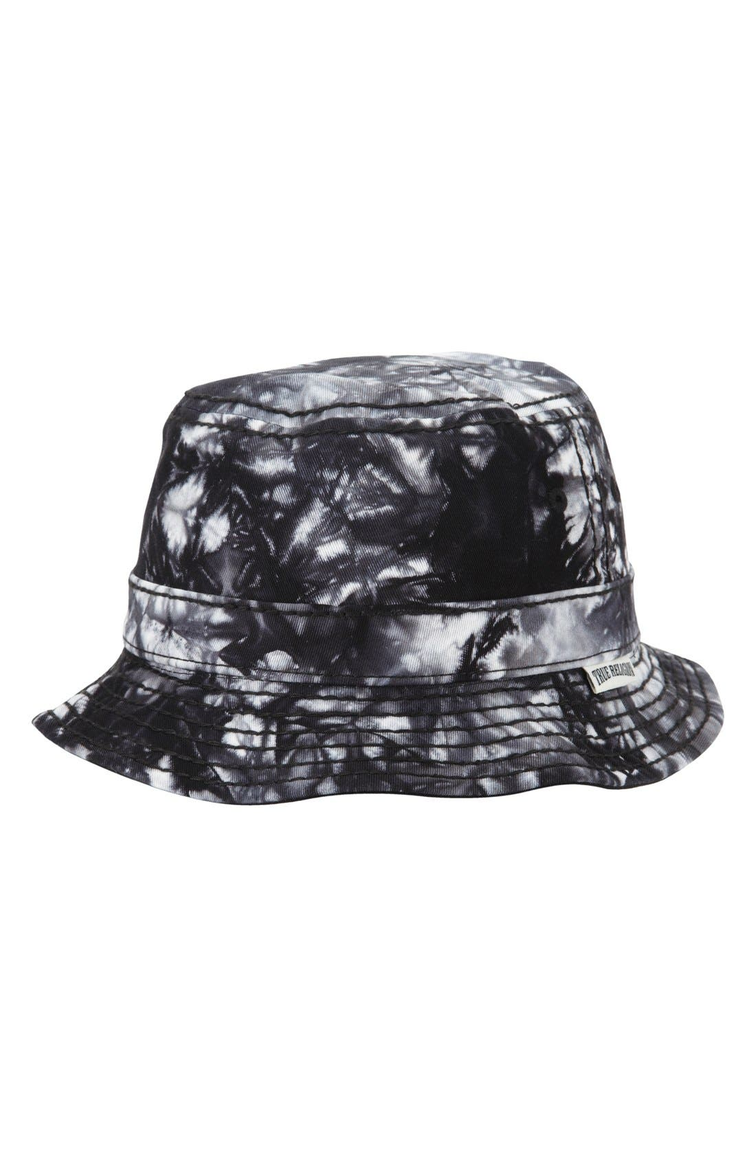 Marble Dye Bucket Hat,                             Main thumbnail 1, color,                             001