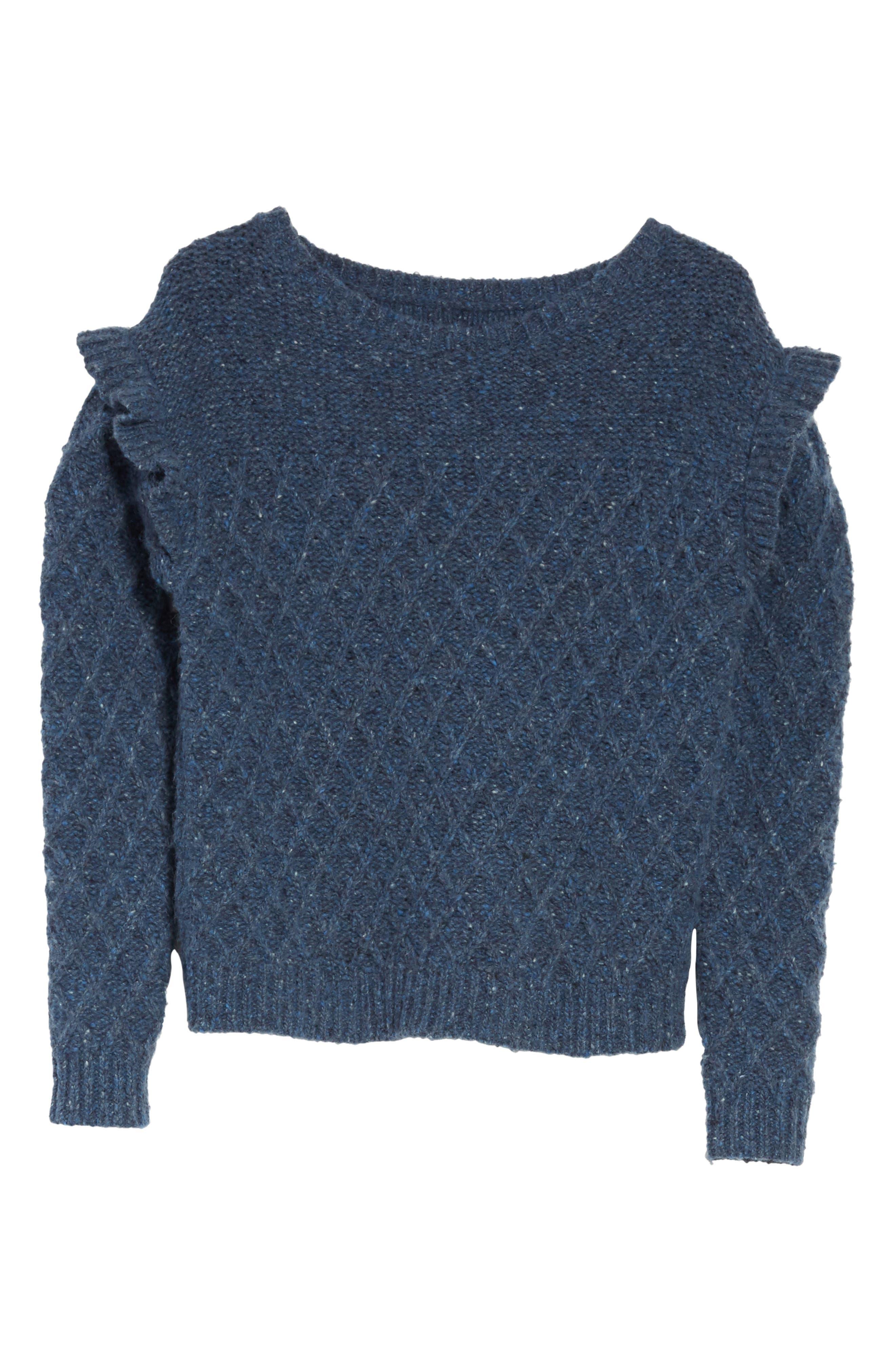 Lattice Stitch Pullover,                             Alternate thumbnail 6, color,                             454