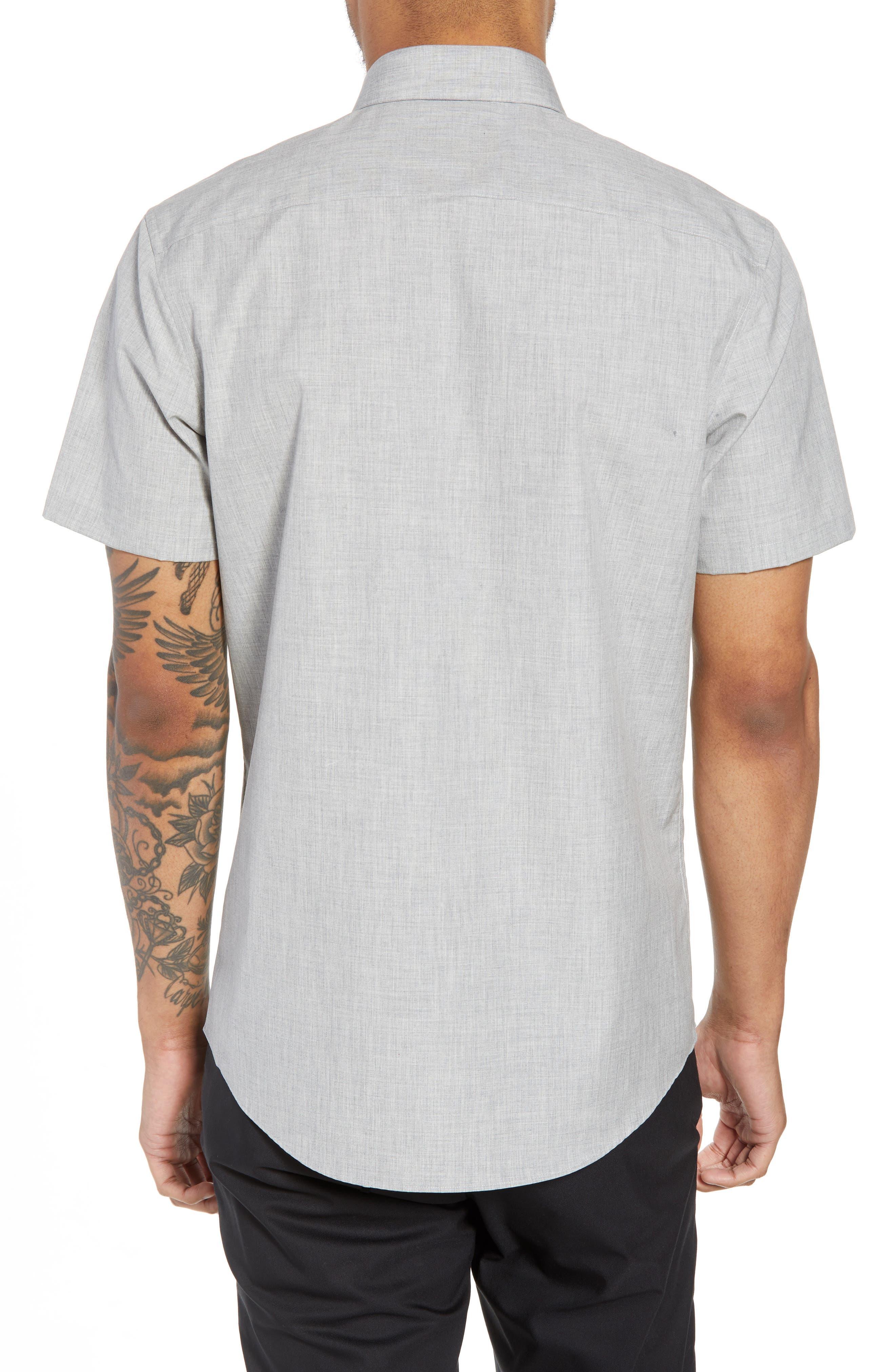 Trim Fit Slash Pocket Sport Shirt,                             Alternate thumbnail 2, color,                             050