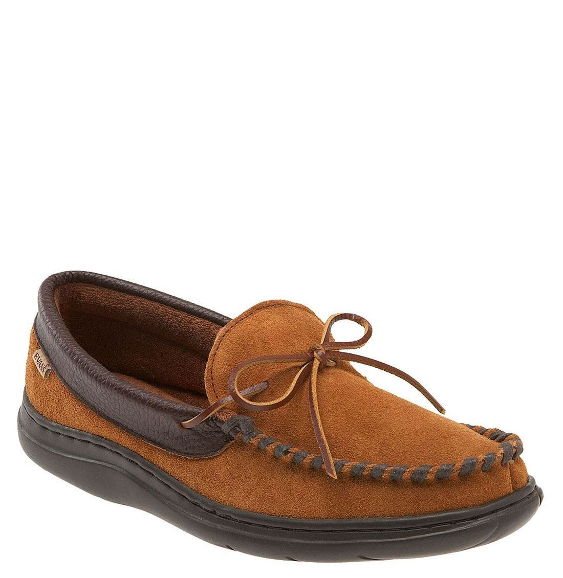 'Atlin' Moccasin,                         Main,                         color, Saddle/ Terry