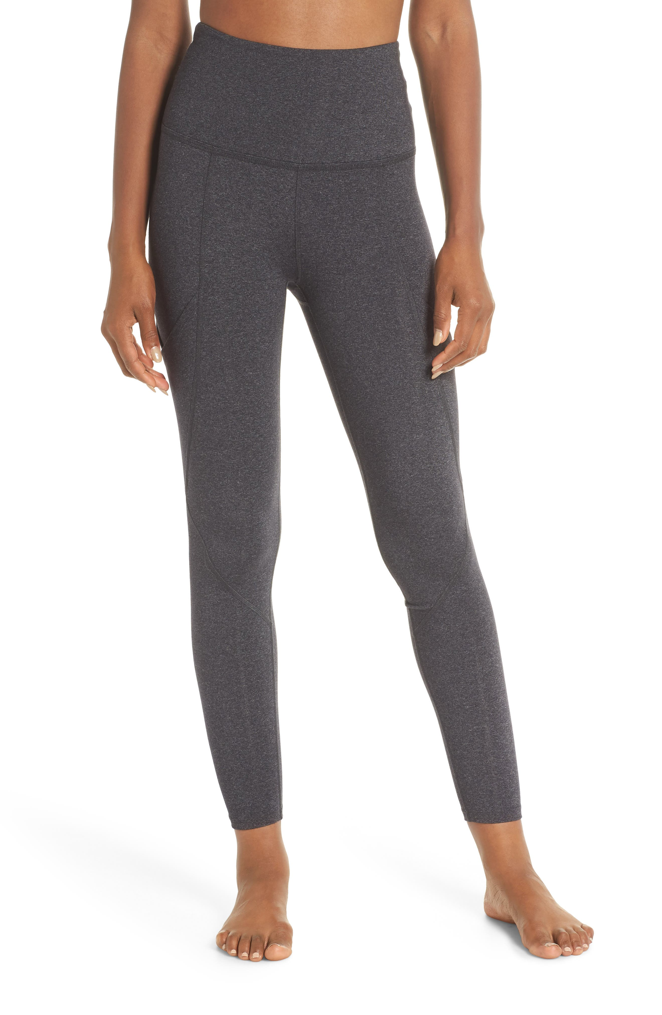 Palomino Midi High Waisted Leggings,                             Main thumbnail 1, color,                             030