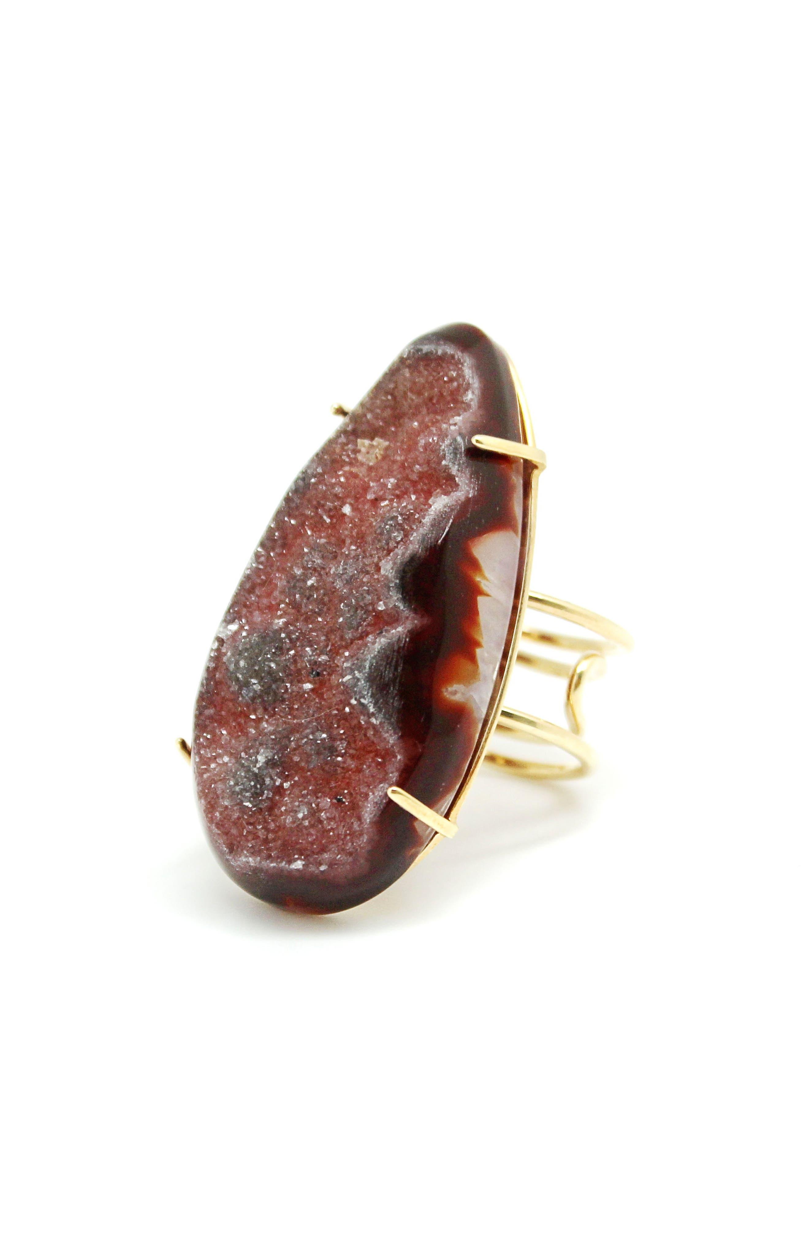 Drusy Ring,                             Main thumbnail 1, color,                             930