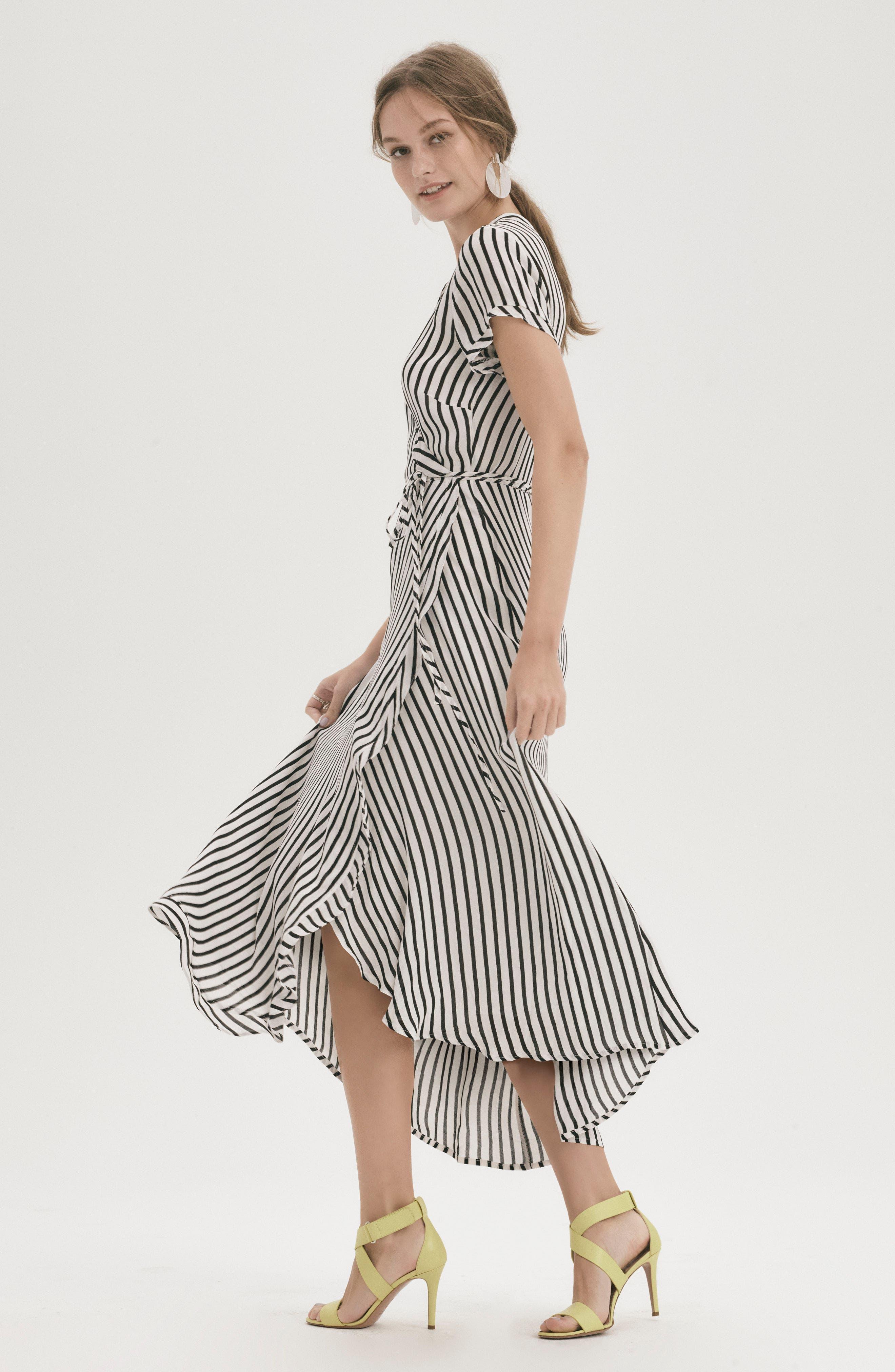 Adie Maxi Wrap Dress,                             Alternate thumbnail 12, color,                             013