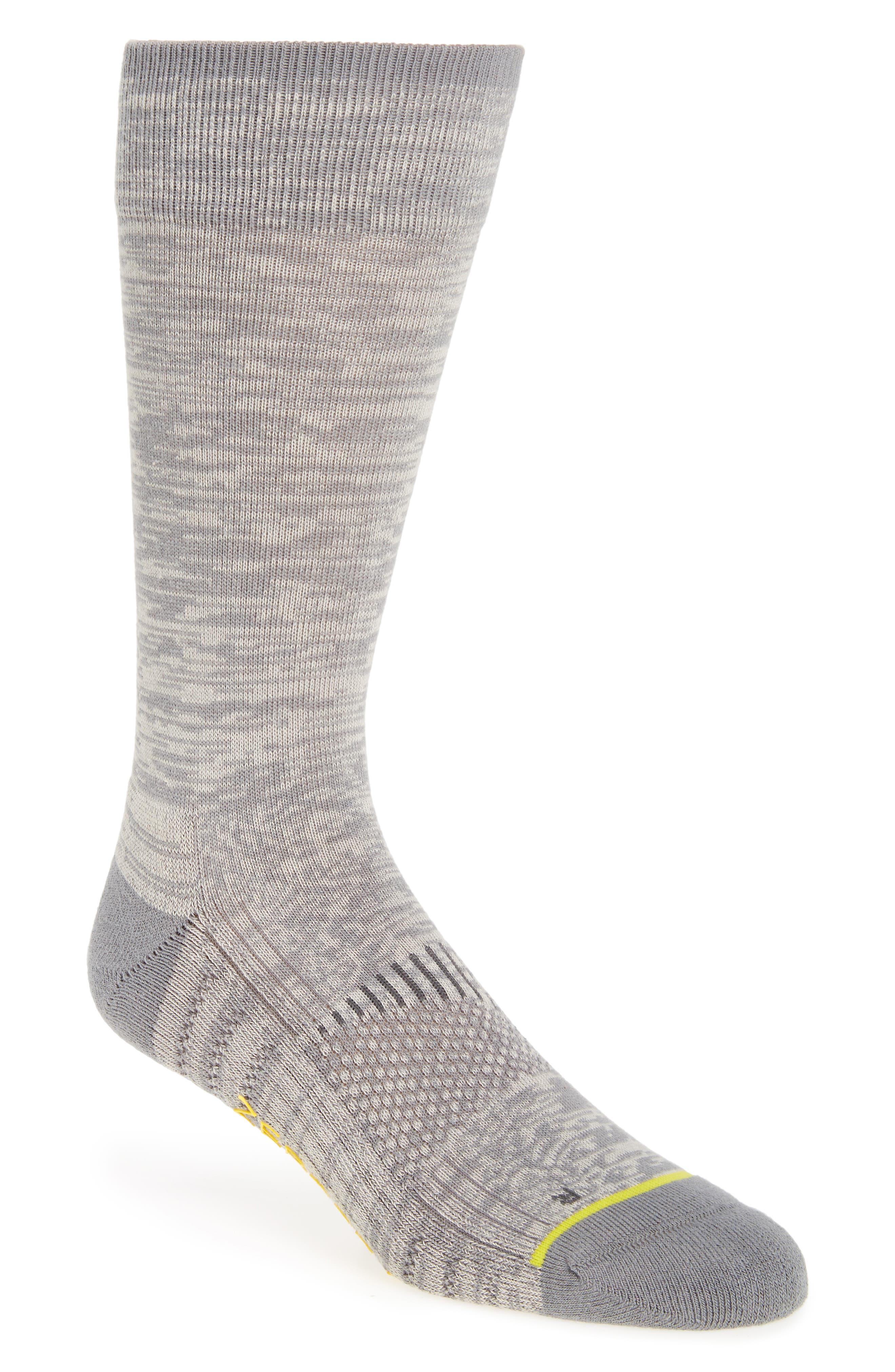 ZeroGrand Random Feed Crew Socks,                             Main thumbnail 1, color,                             039