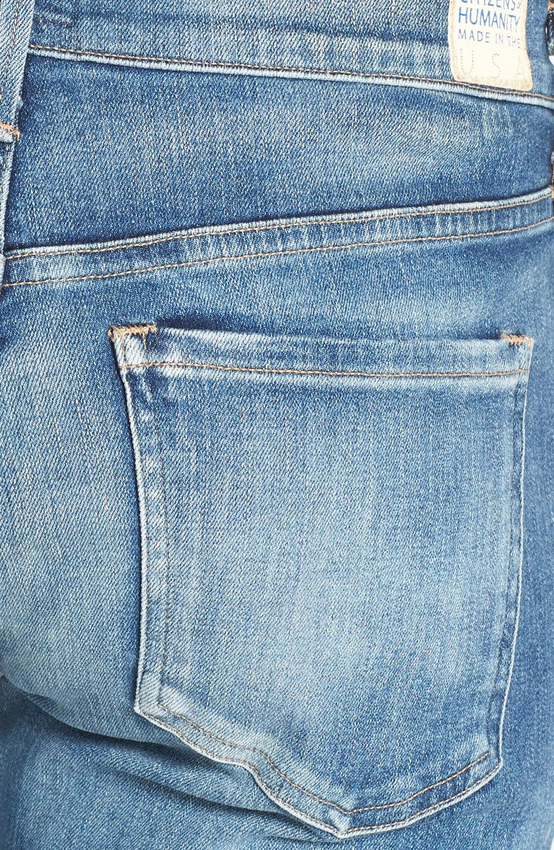 CITIZENS OF HUMANITY,                             'Emerson' Destroyed Slim Boyfriend Jeans,                             Alternate thumbnail 3, color,                             486