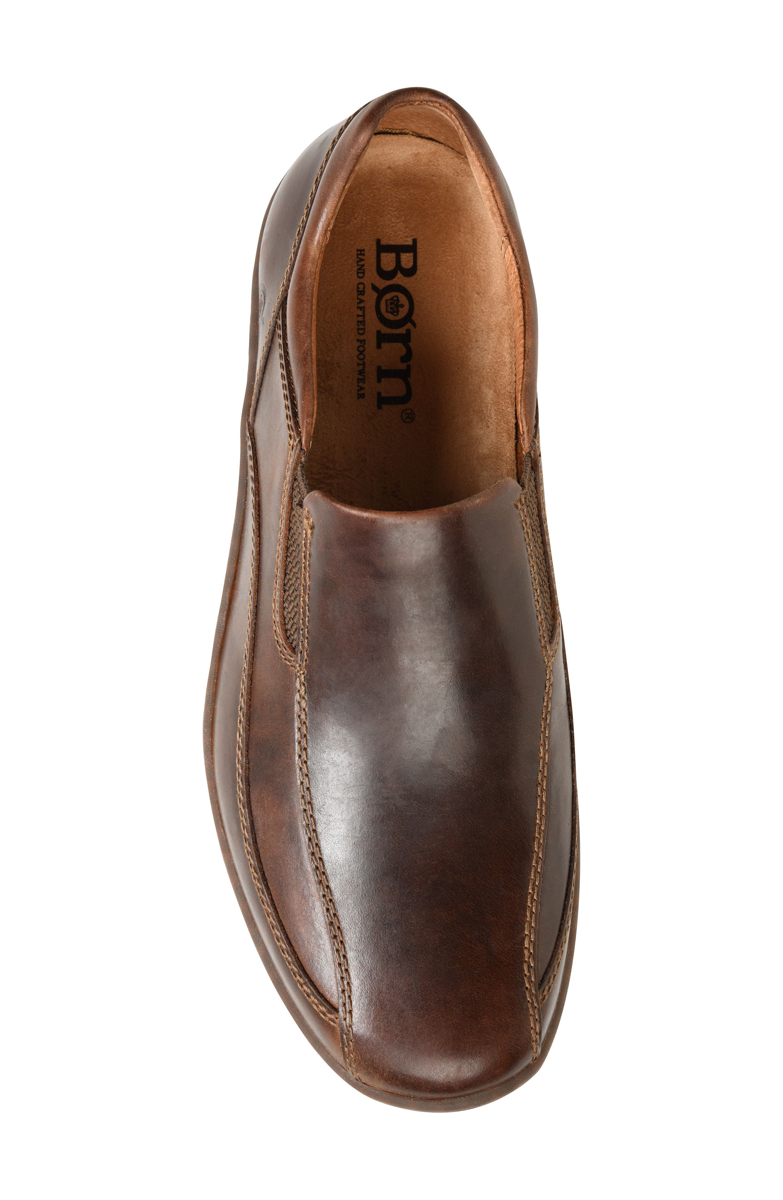 Baker Bike Toe Slip-On,                             Alternate thumbnail 5, color,                             TAN