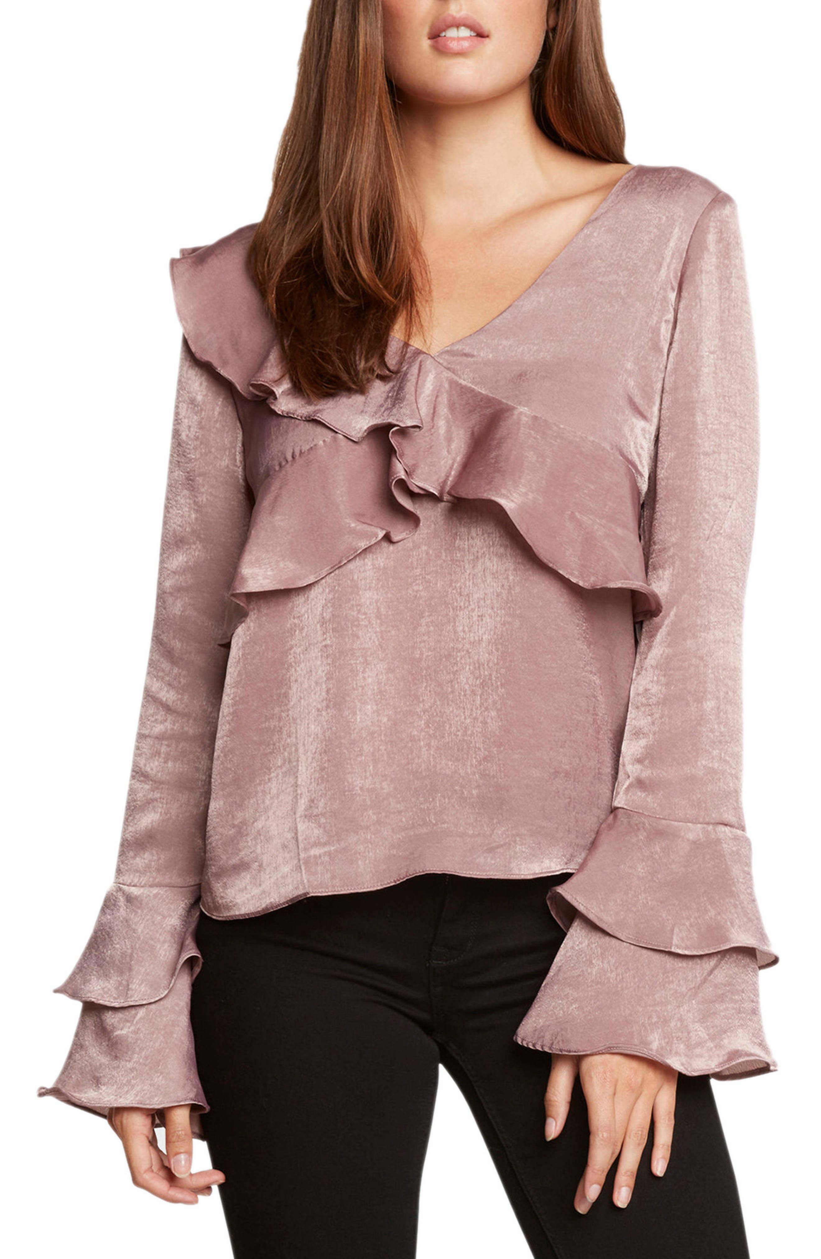 Ruffle Top,                             Main thumbnail 1, color,                             530