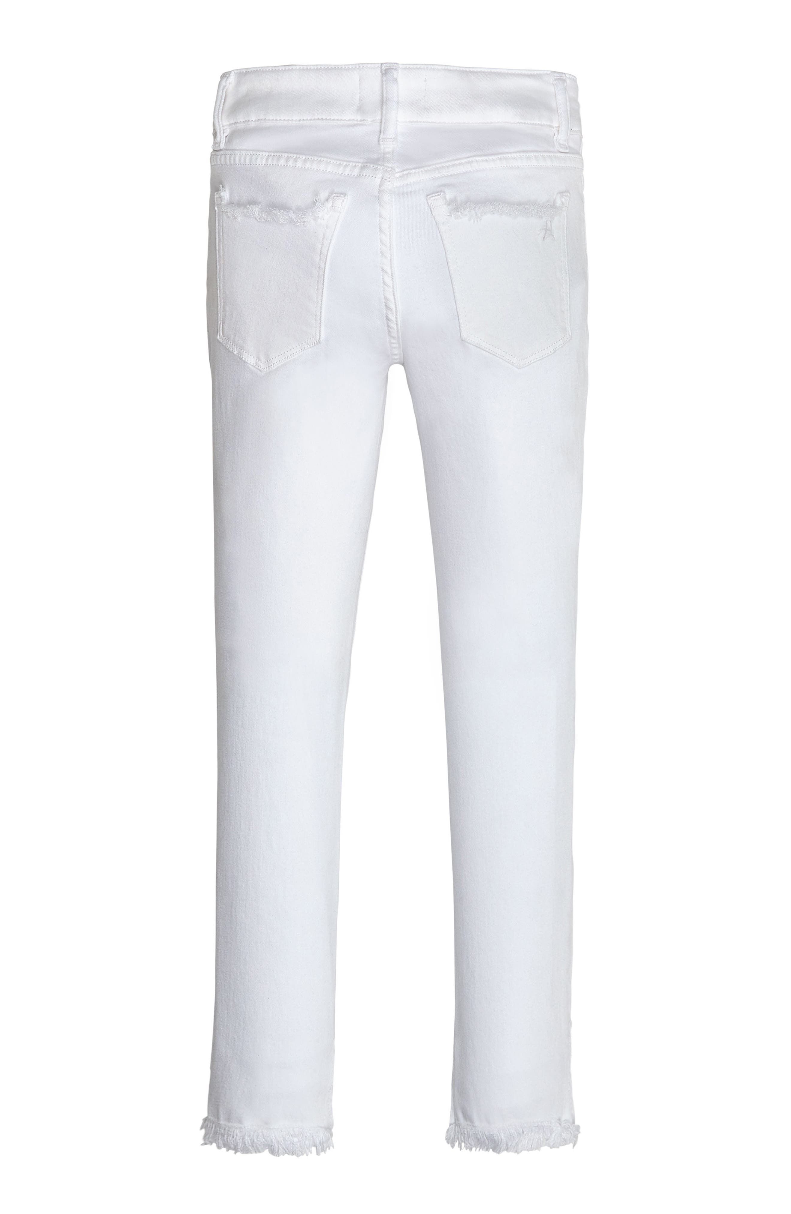 Distressed Skinny Jeans,                             Alternate thumbnail 2, color,                             400