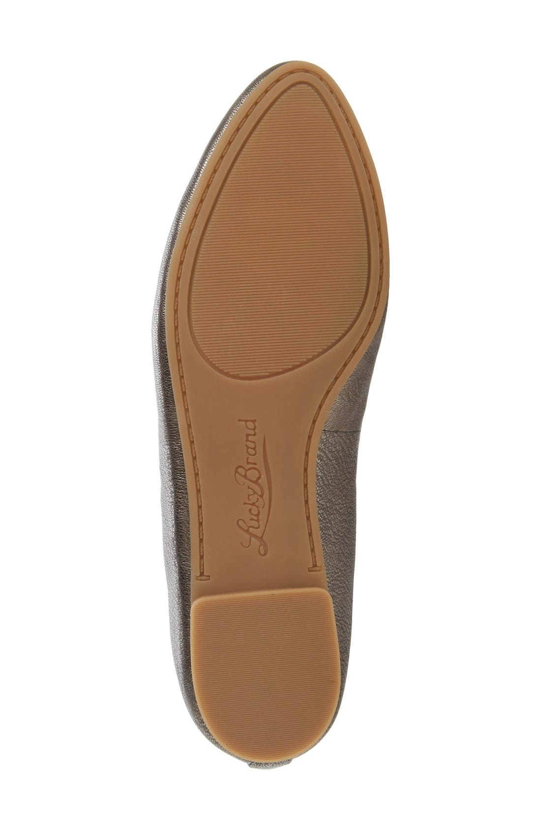 'Aviee' Lace-Up Flat,                             Alternate thumbnail 31, color,