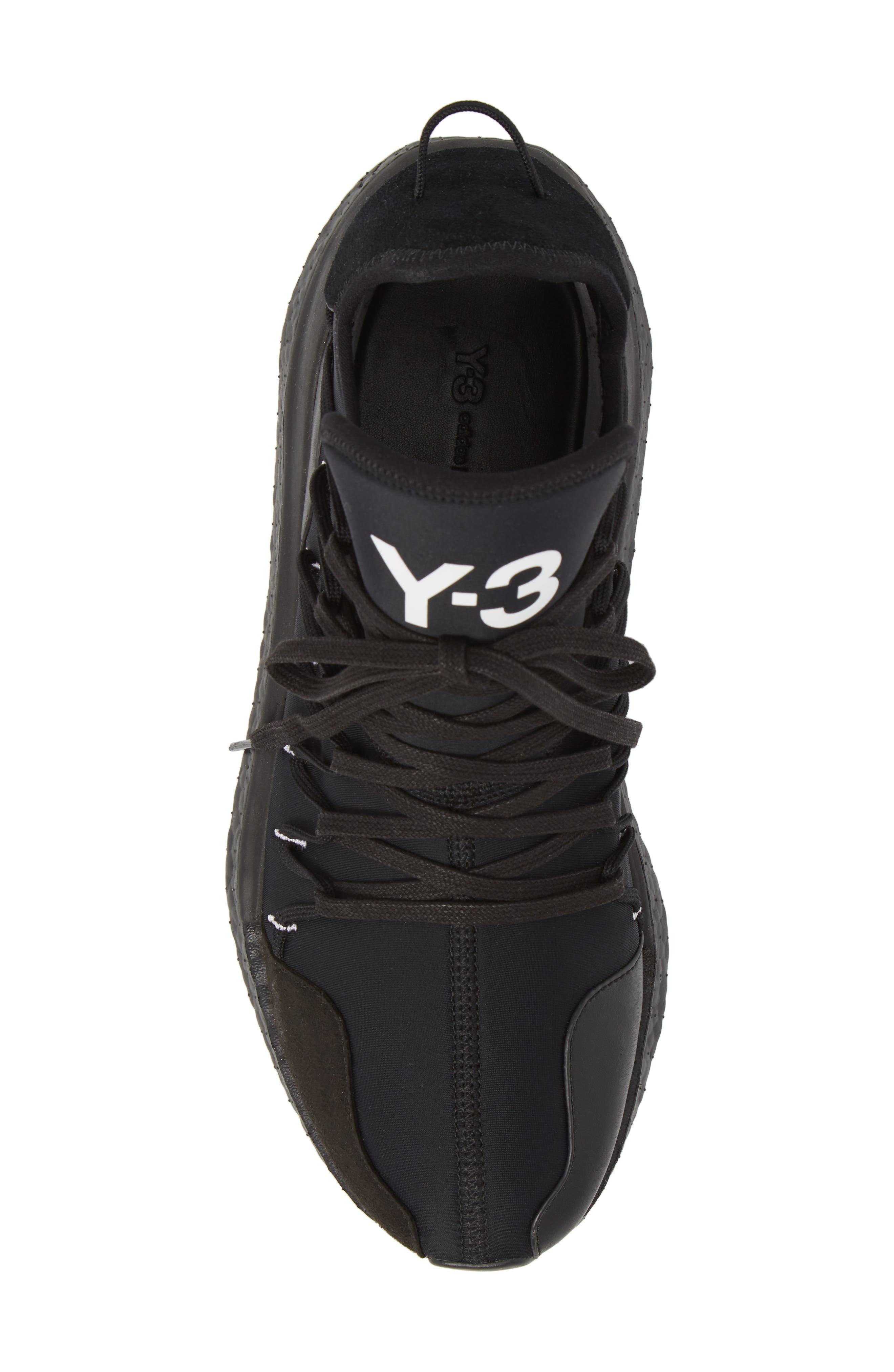 x adidas Kusari Sneaker,                             Alternate thumbnail 5, color,                             BLACK/BLACK