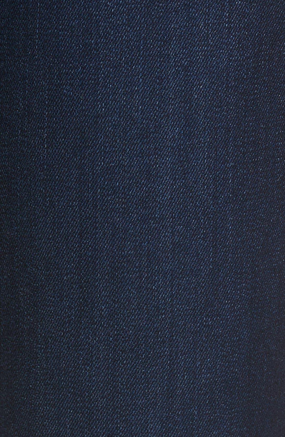 'Flawless - Honey' Curvy Skinny Jeans,                             Alternate thumbnail 3, color,                             SELMA