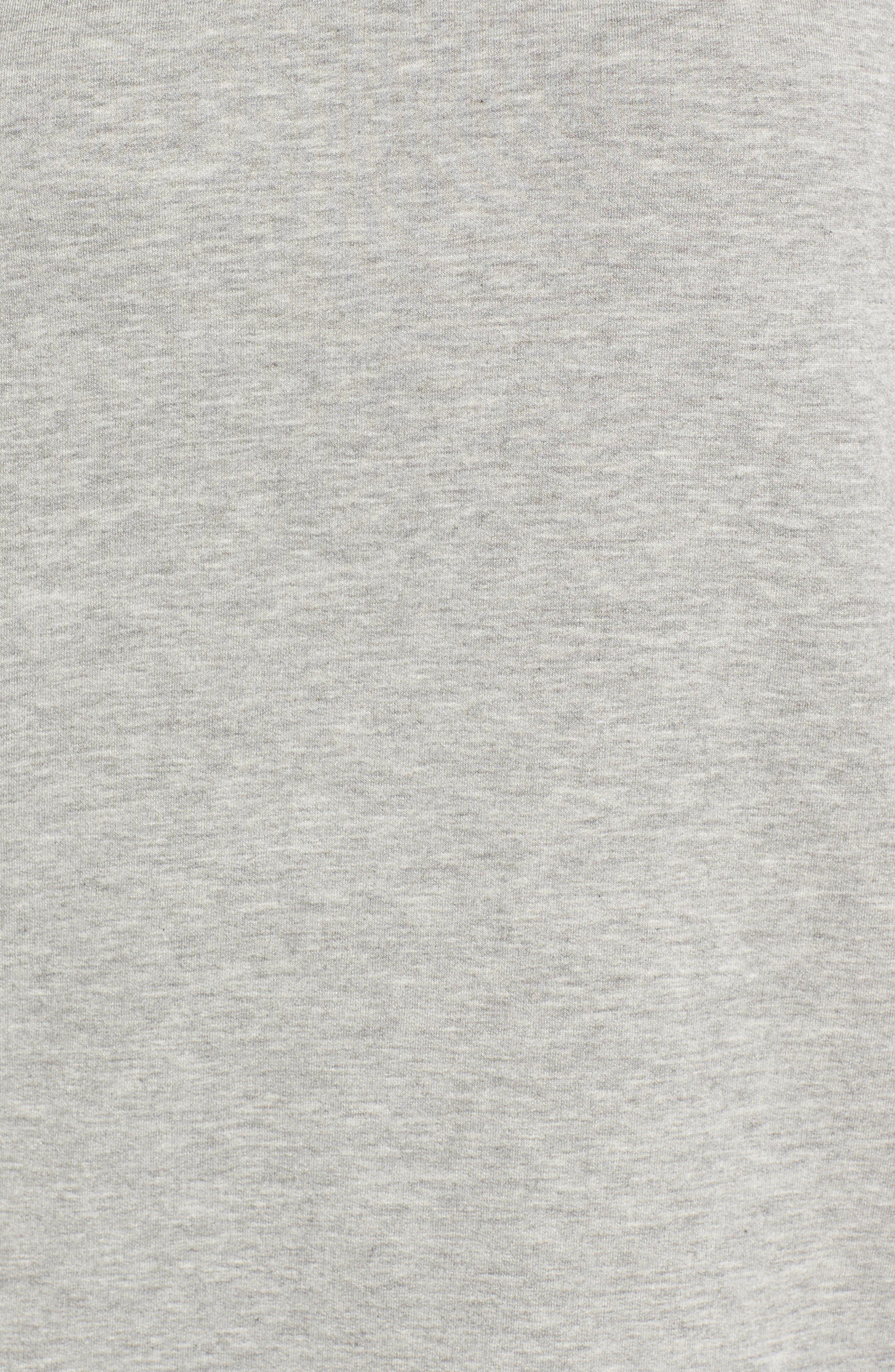 Short Sleeve Sweatshirt,                             Alternate thumbnail 5, color,                             050