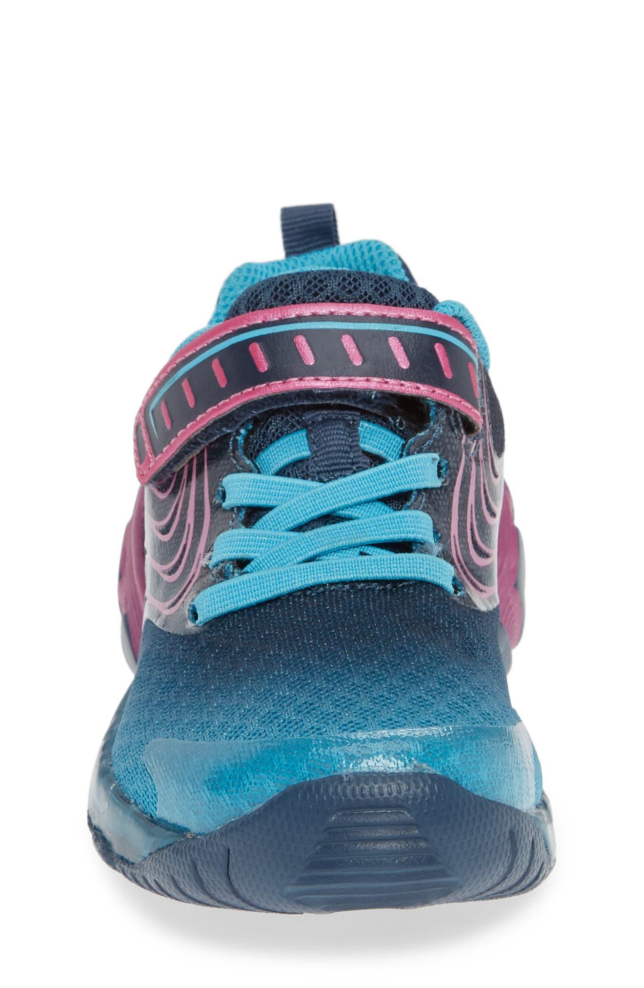 Lights Lux Light-Up Sneaker,                             Alternate thumbnail 4, color,                             400