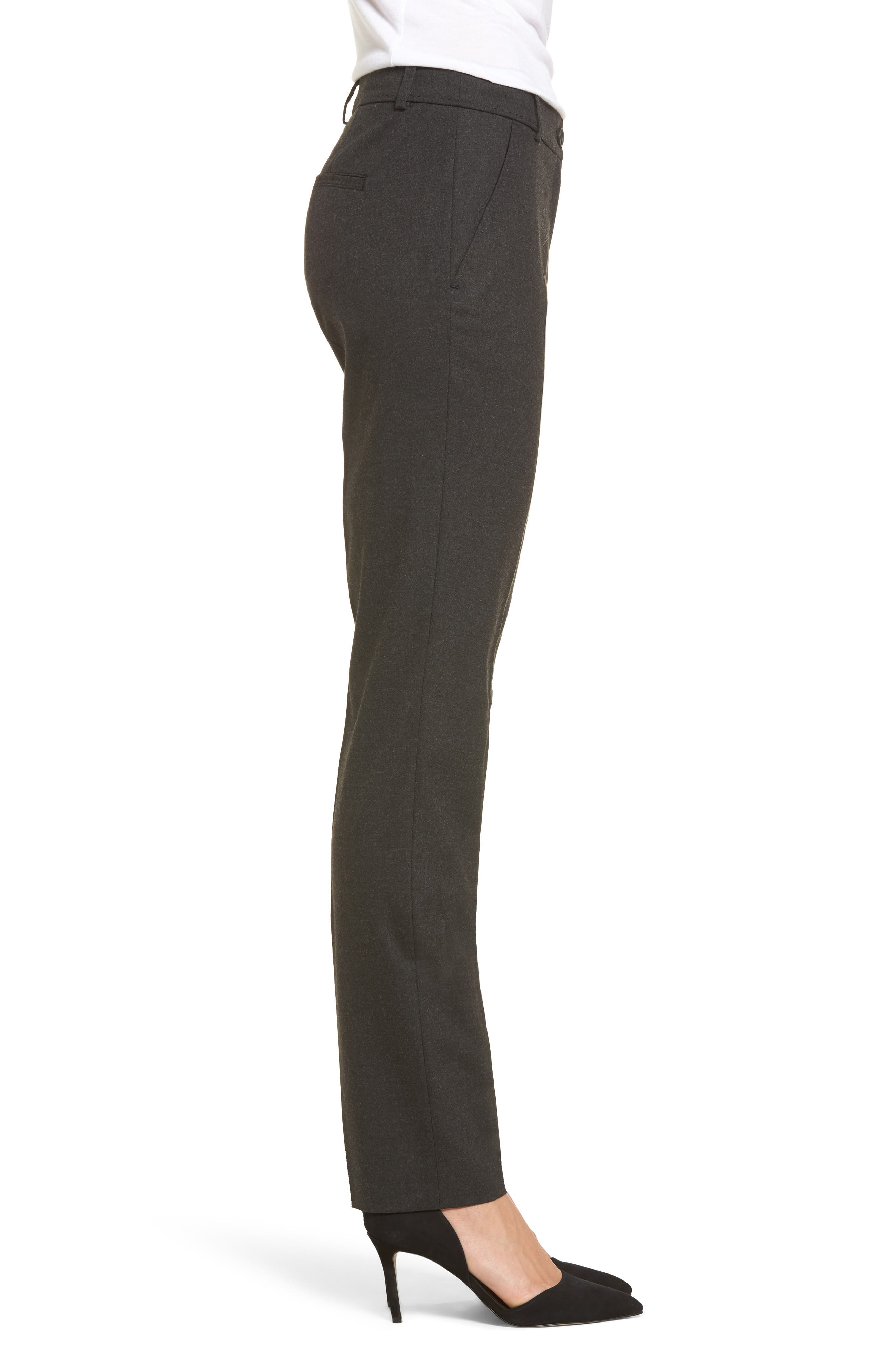 Straight Leg Trousers,                             Alternate thumbnail 8, color,