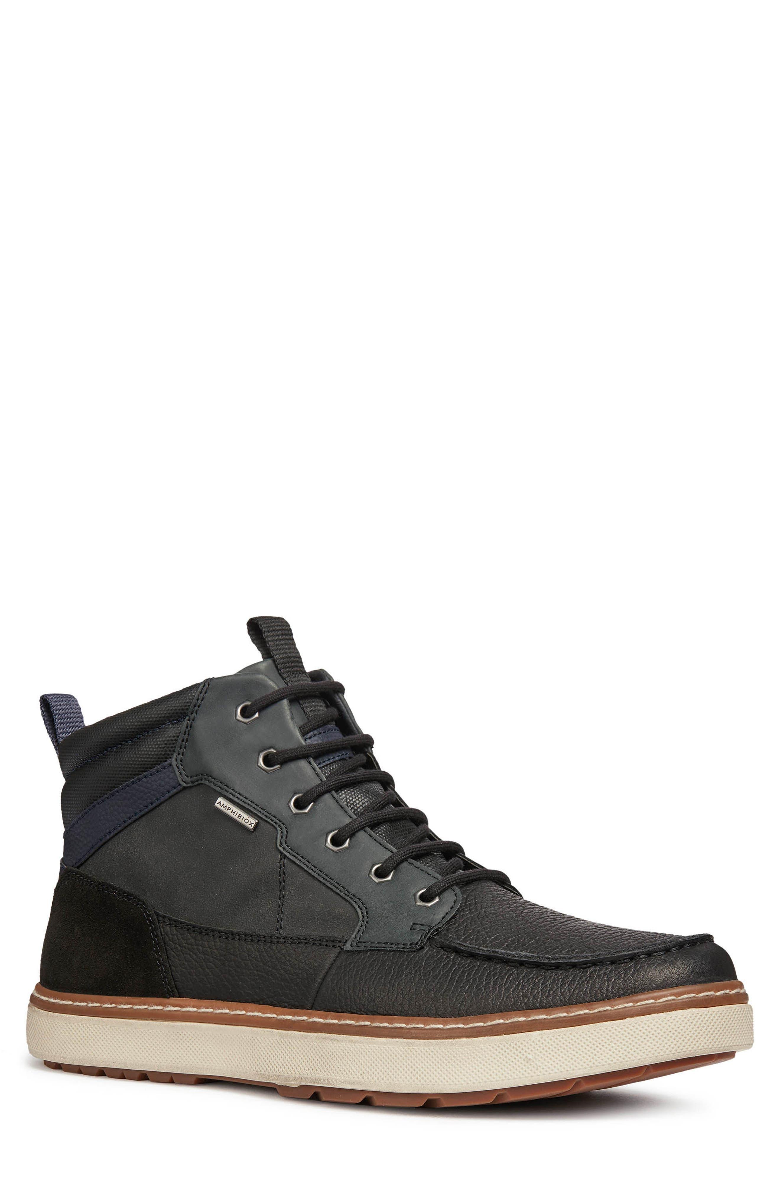 Geox Mattias Abs 22 Waterproof Boot, Black