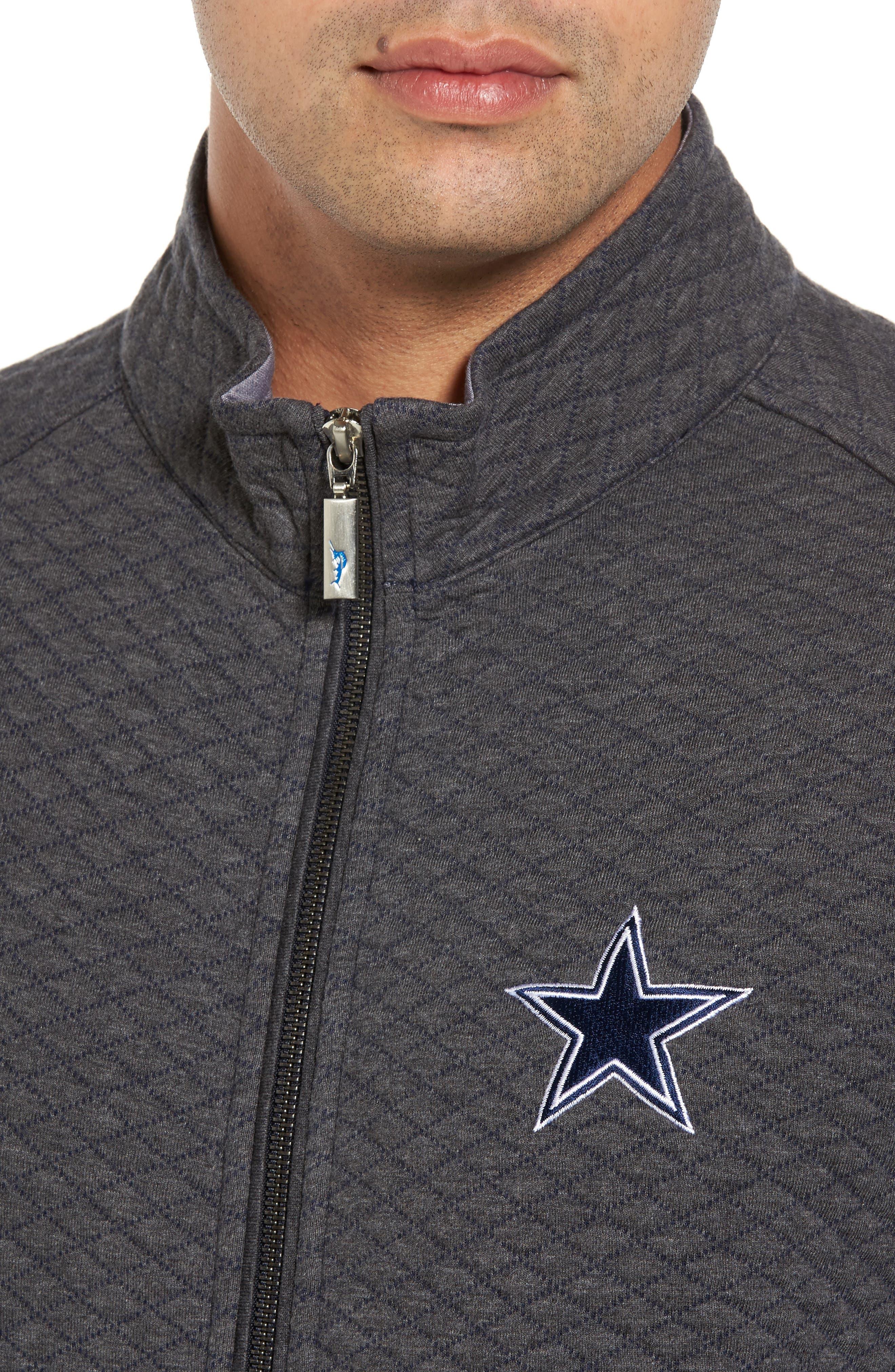 NFL Quiltessential Full Zip Sweatshirt,                             Alternate thumbnail 105, color,