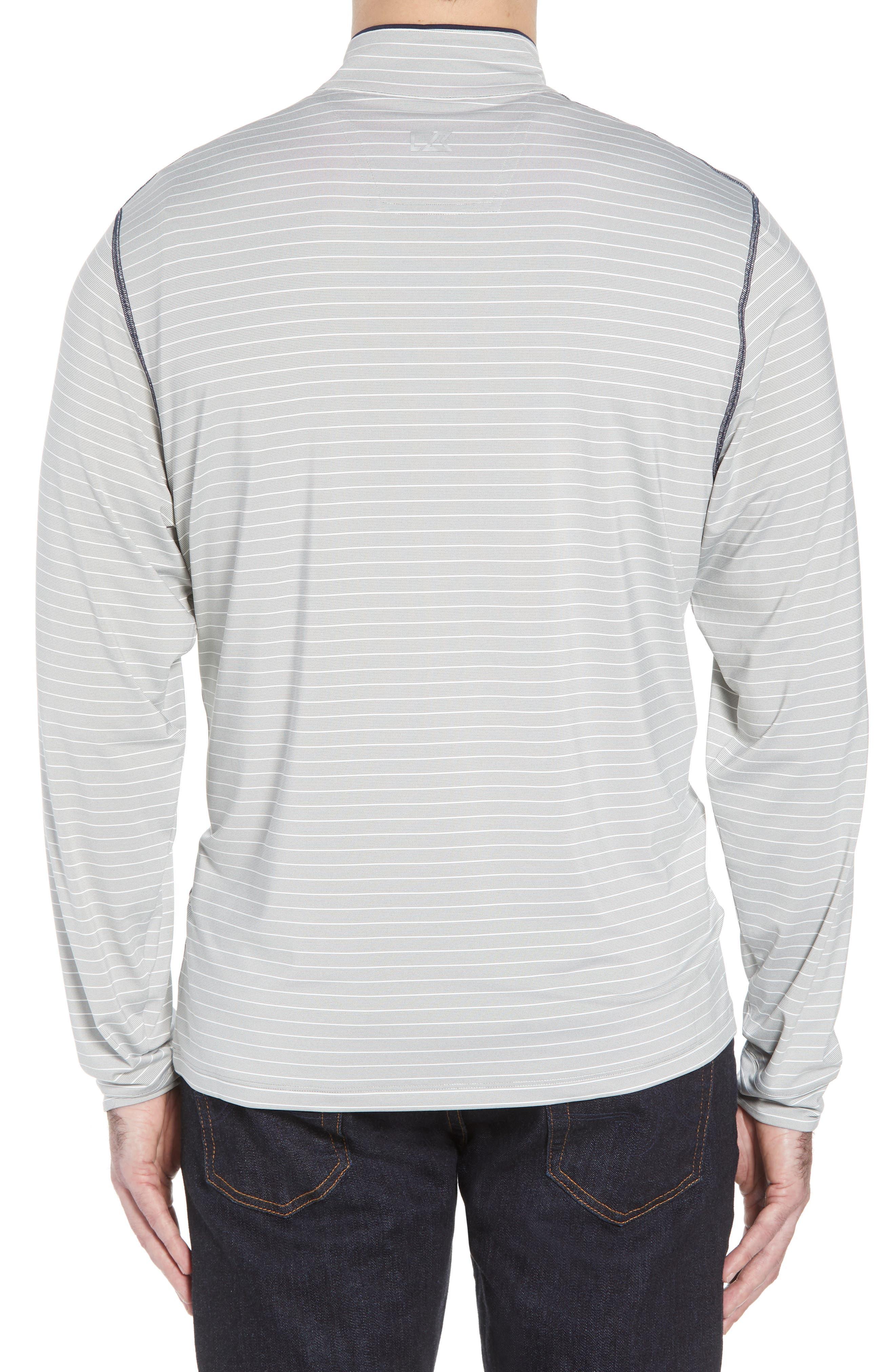 Meridian - Tennessee Titans Regular Fit Half Zip Pullover,                             Alternate thumbnail 2, color,                             NAVY