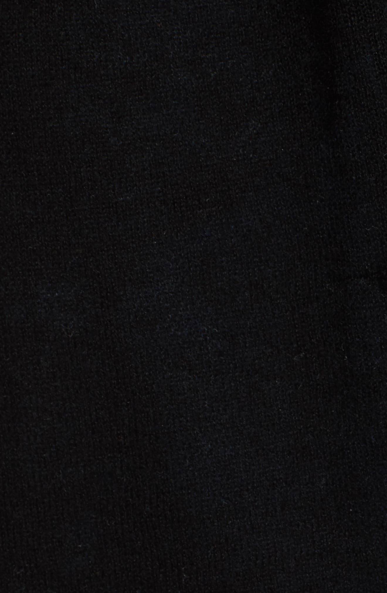 THEORY,                             Featherweight Cashmere Cardigan,                             Alternate thumbnail 5, color,                             001