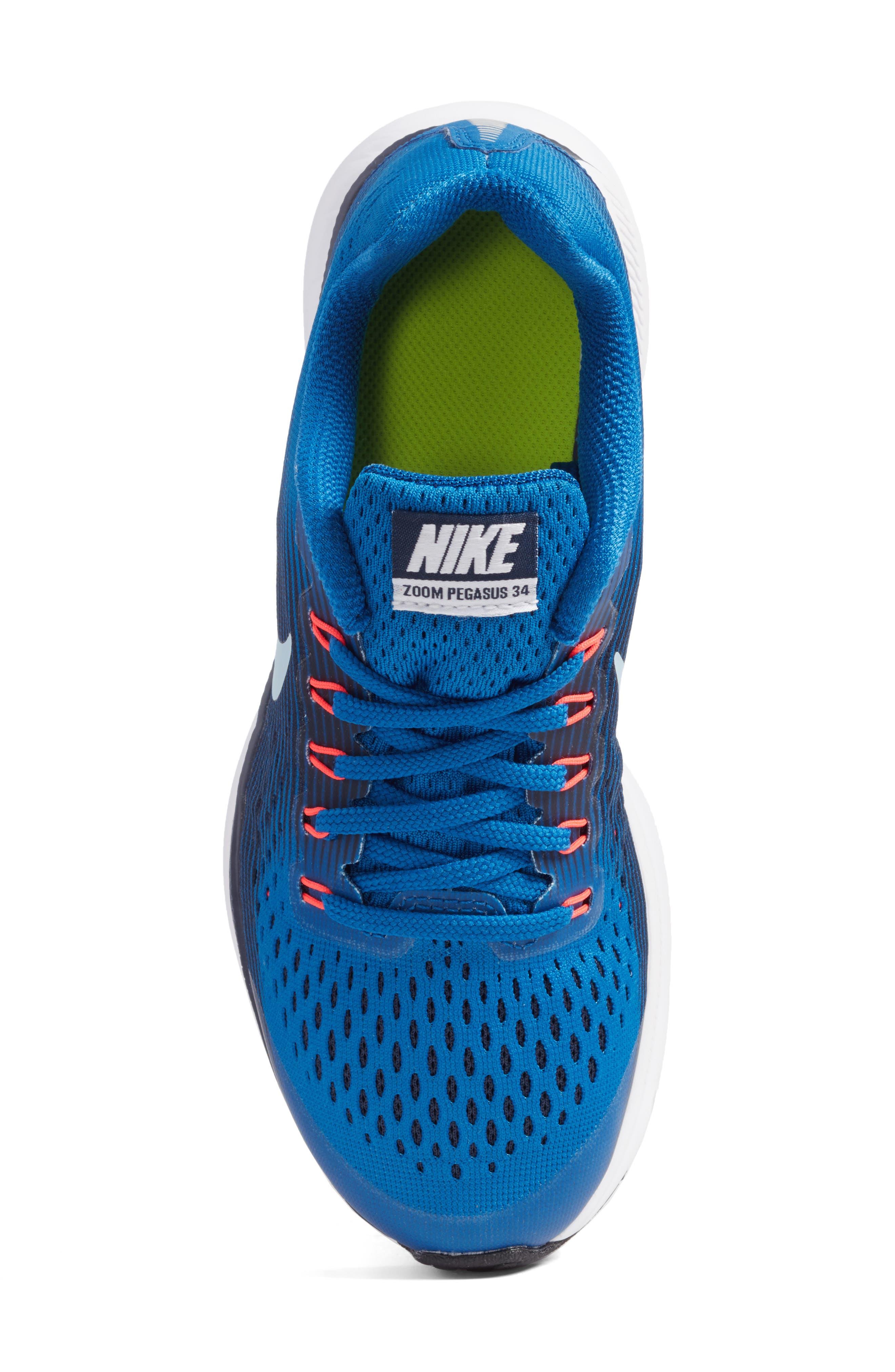 Zoom Pegasus 34 Sneaker,                             Alternate thumbnail 38, color,