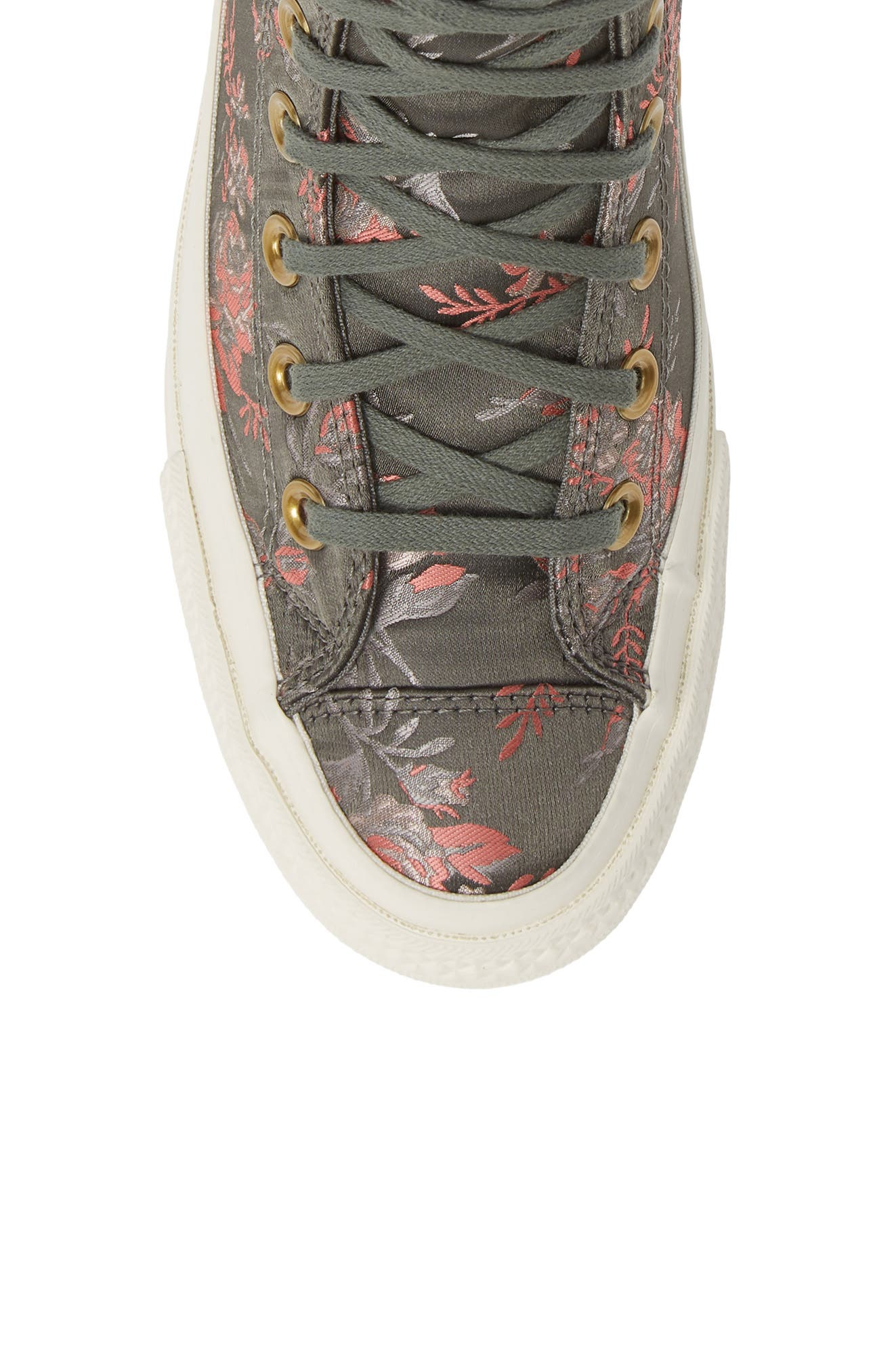 Chuck Taylor<sup>®</sup> All Star<sup>®</sup> Lift Ripple Parkway Floral High Top Sneaker,                             Alternate thumbnail 5, color,                             020