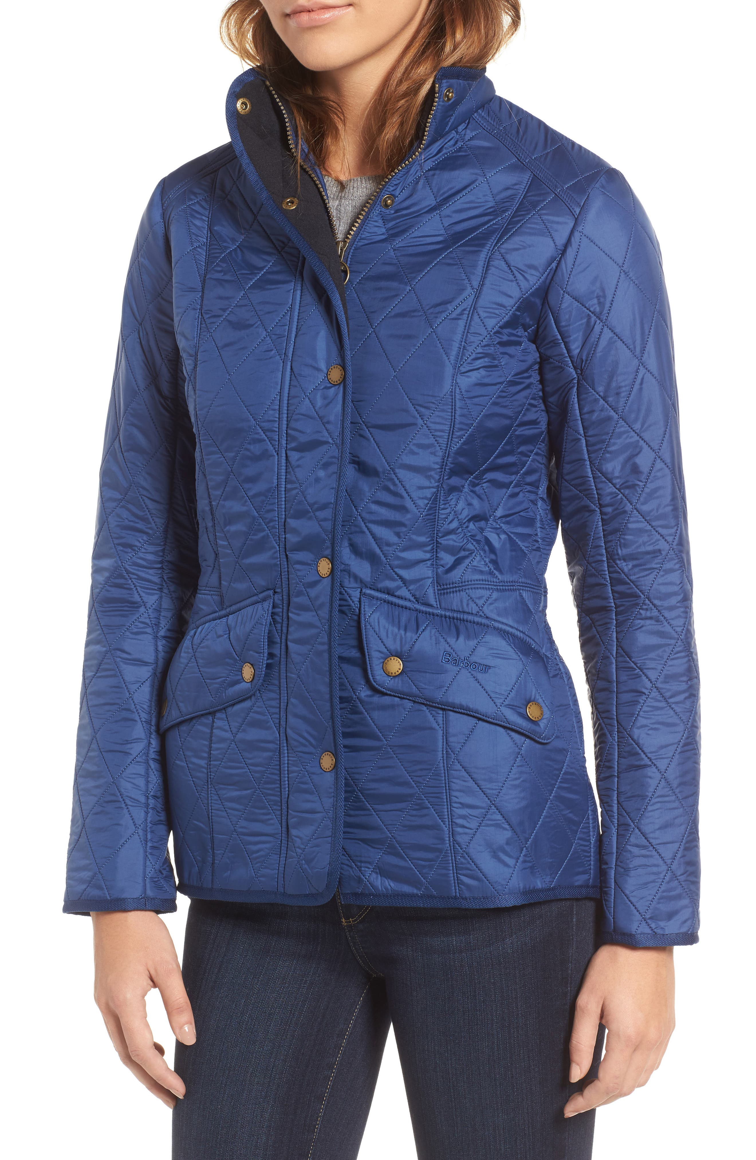 'Cavalry' Quilted Jacket,                             Alternate thumbnail 45, color,