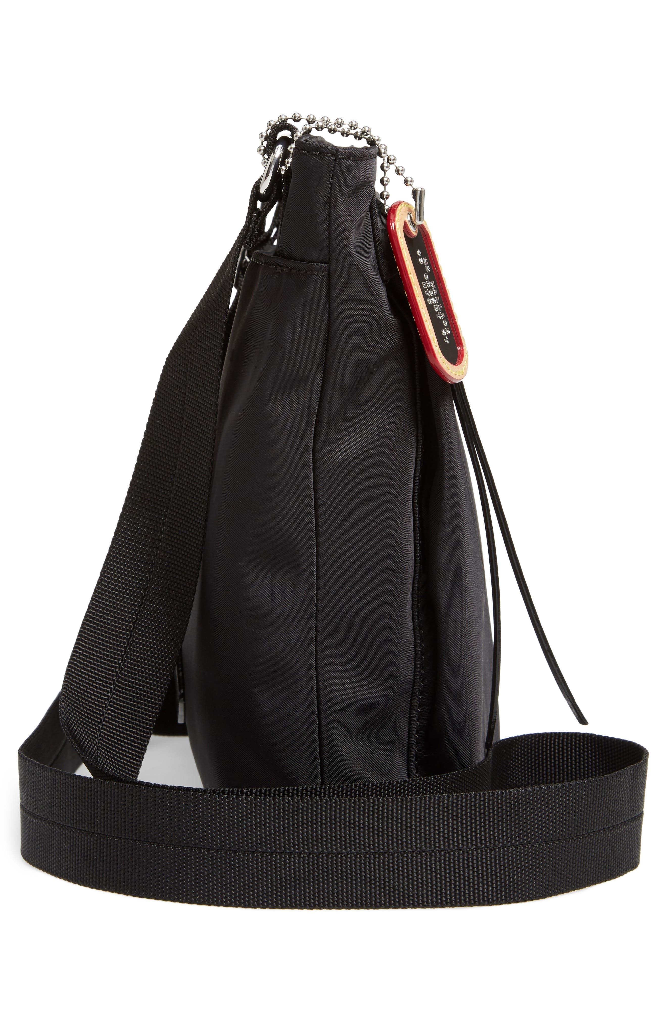 Jordan Bedford Nylon Crossbody Bag,                             Alternate thumbnail 5, color,                             008