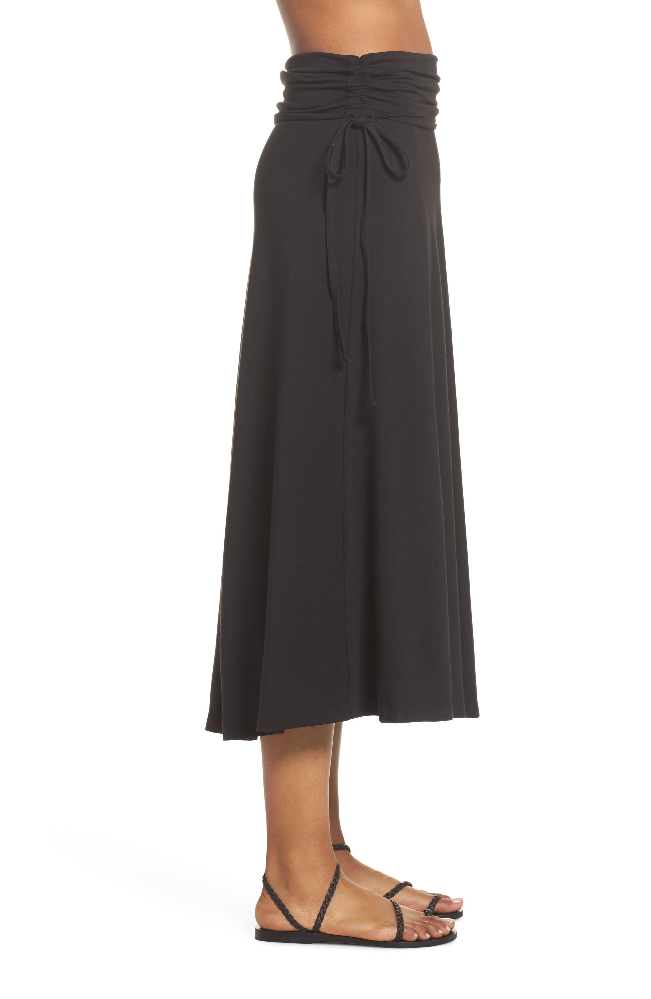 Kamala Maxi Skirt,                             Alternate thumbnail 4, color,                             001